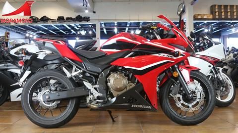 2018 Honda CBR500R ABS in Pinellas Park, Florida