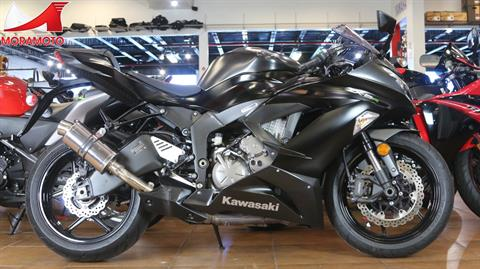 2015 Kawasaki Ninja® ZX™-6R ABS in Pinellas Park, Florida