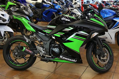 2016 Kawasaki Ninja 300 ABS KRT Edition in Pinellas Park, Florida