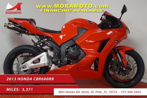 2013 Honda CBR®600RR in Pinellas Park, Florida