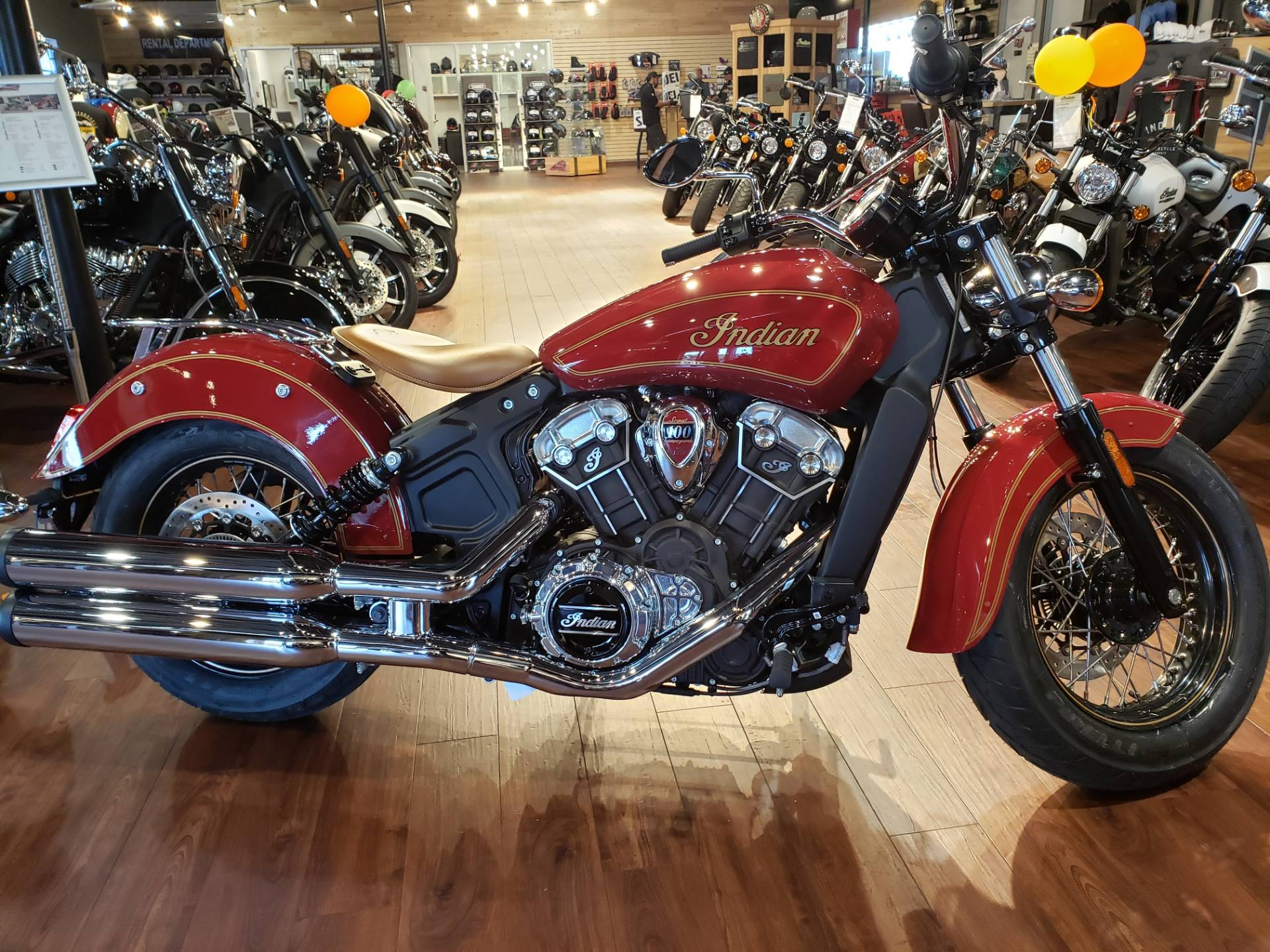 2020 Indian Scout® 100th Anniversary in San Diego, California - Photo 1