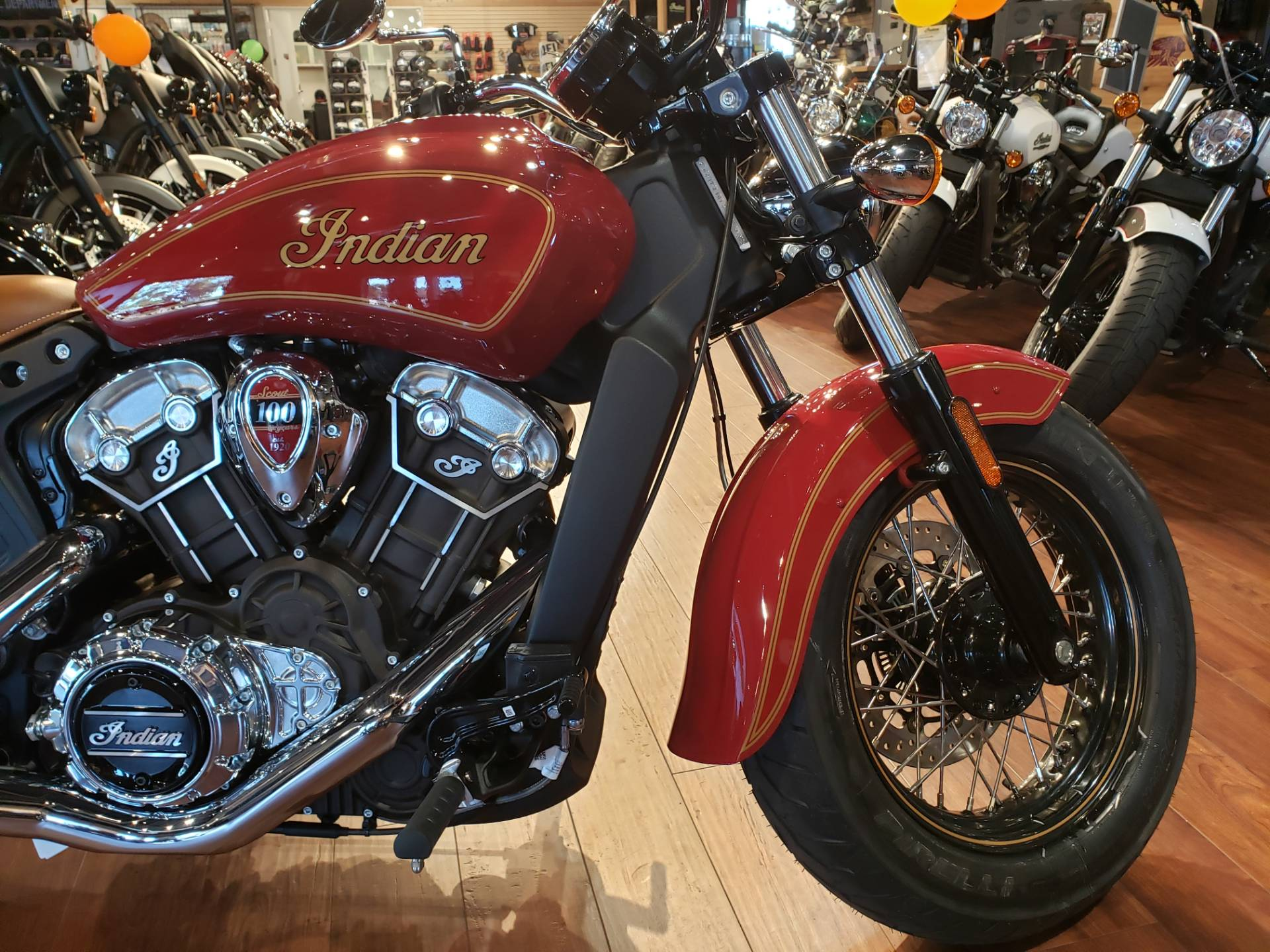 2020 Indian Scout® 100th Anniversary in San Diego, California - Photo 4