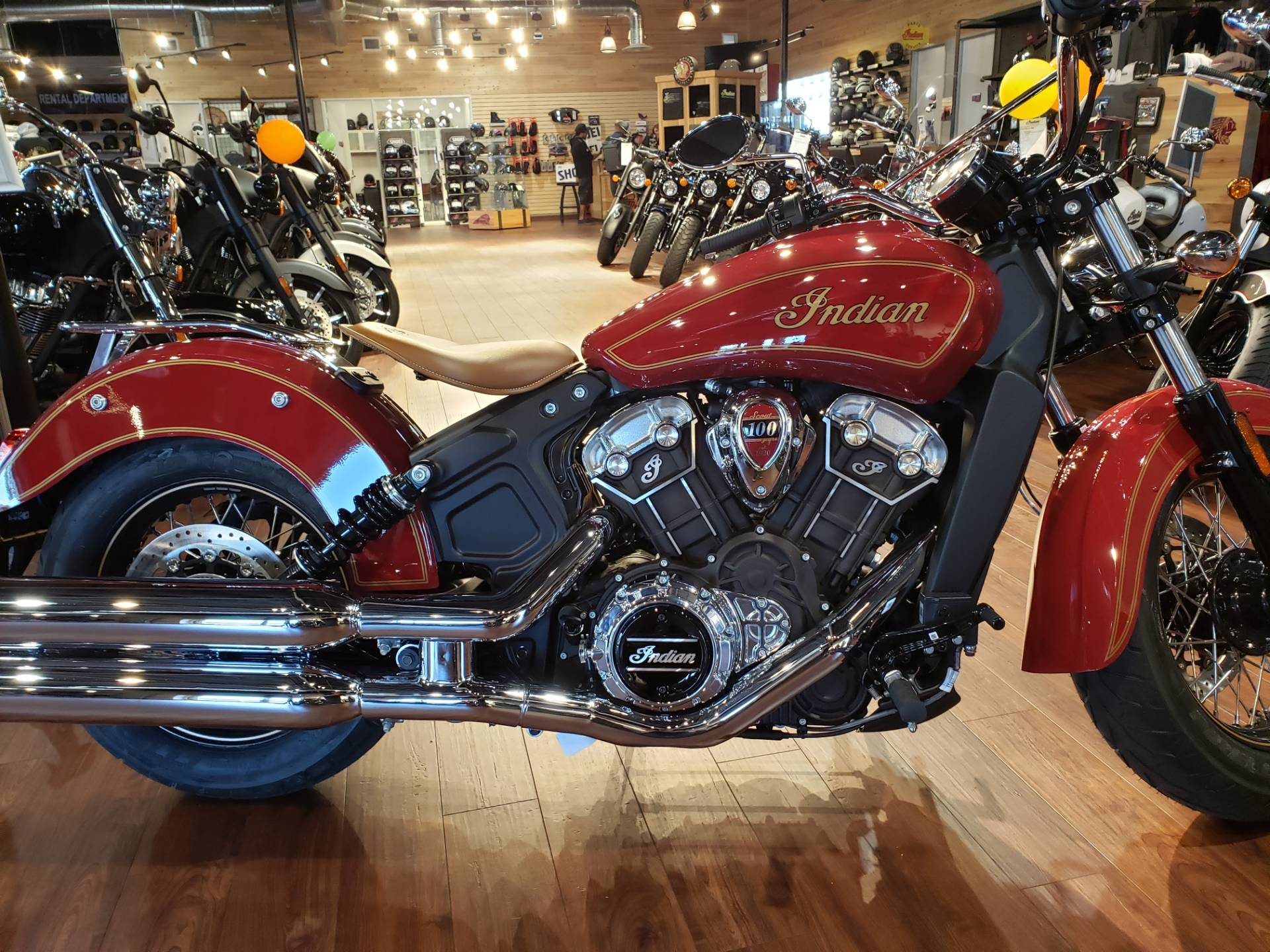 2020 Indian Scout® 100th Anniversary in San Diego, California - Photo 5