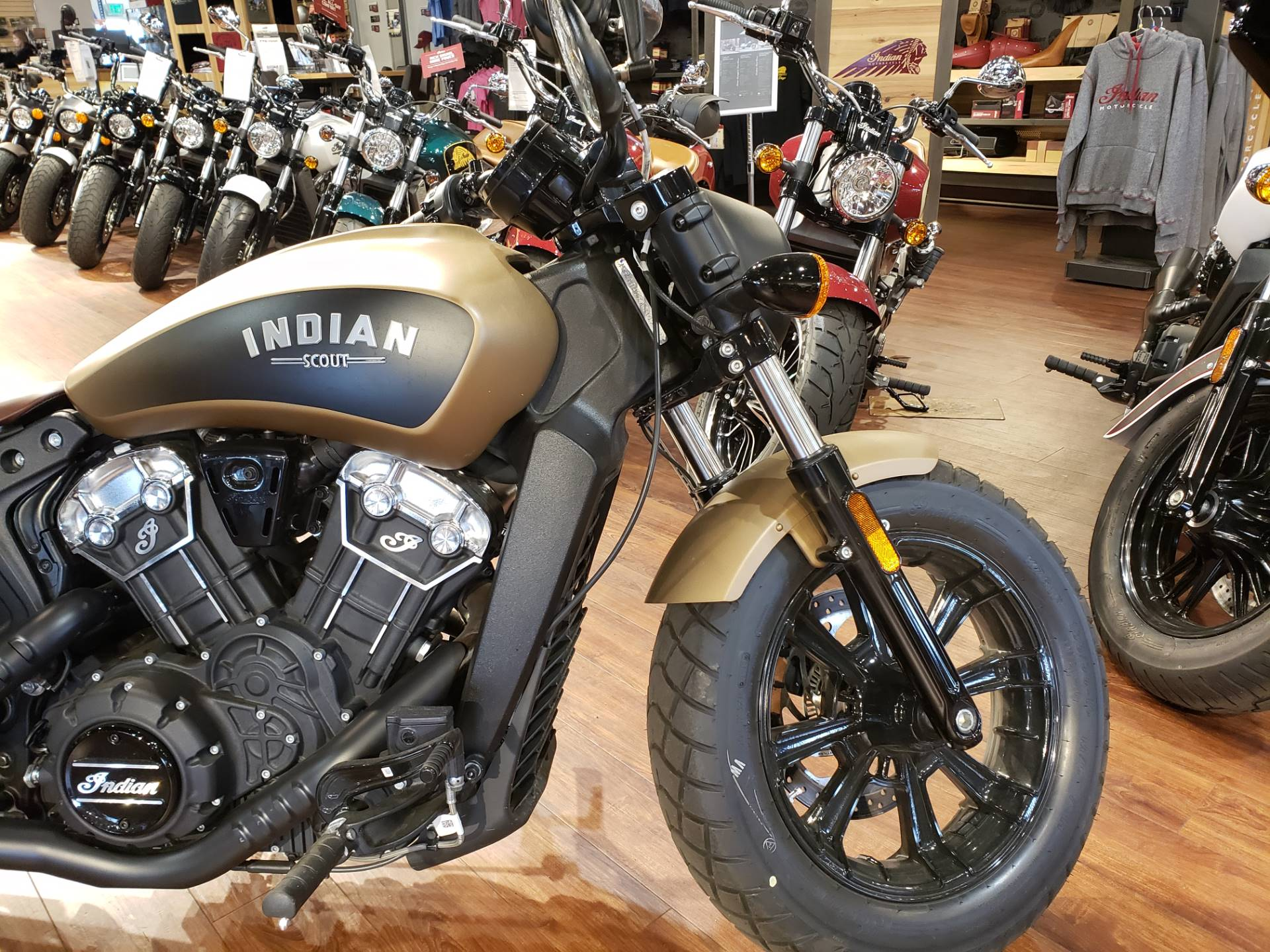2019 Indian Scout® Bobber ABS Icon Series in San Diego, California - Photo 2