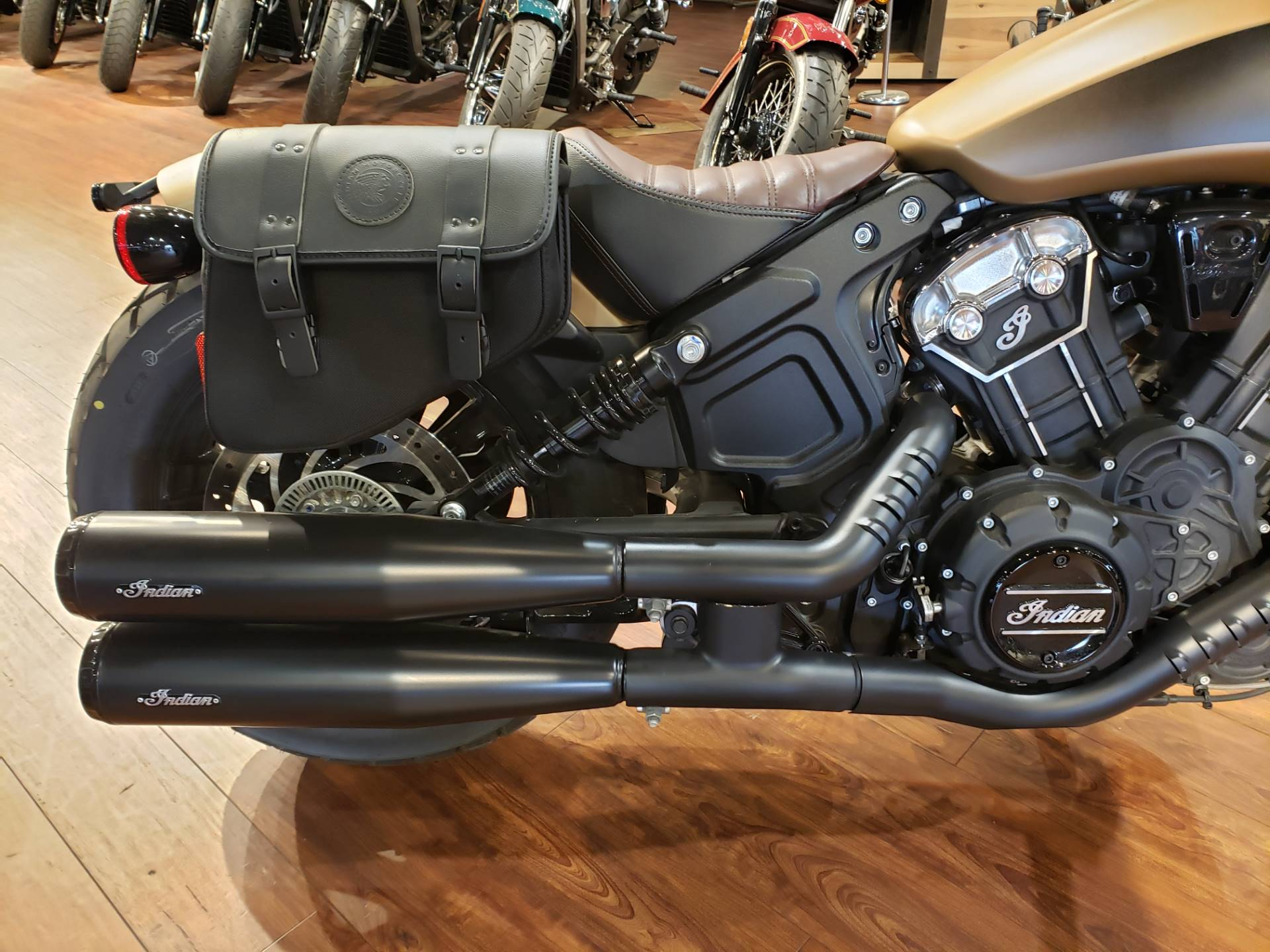 2019 Indian Scout® Bobber ABS Icon Series in San Diego, California - Photo 4
