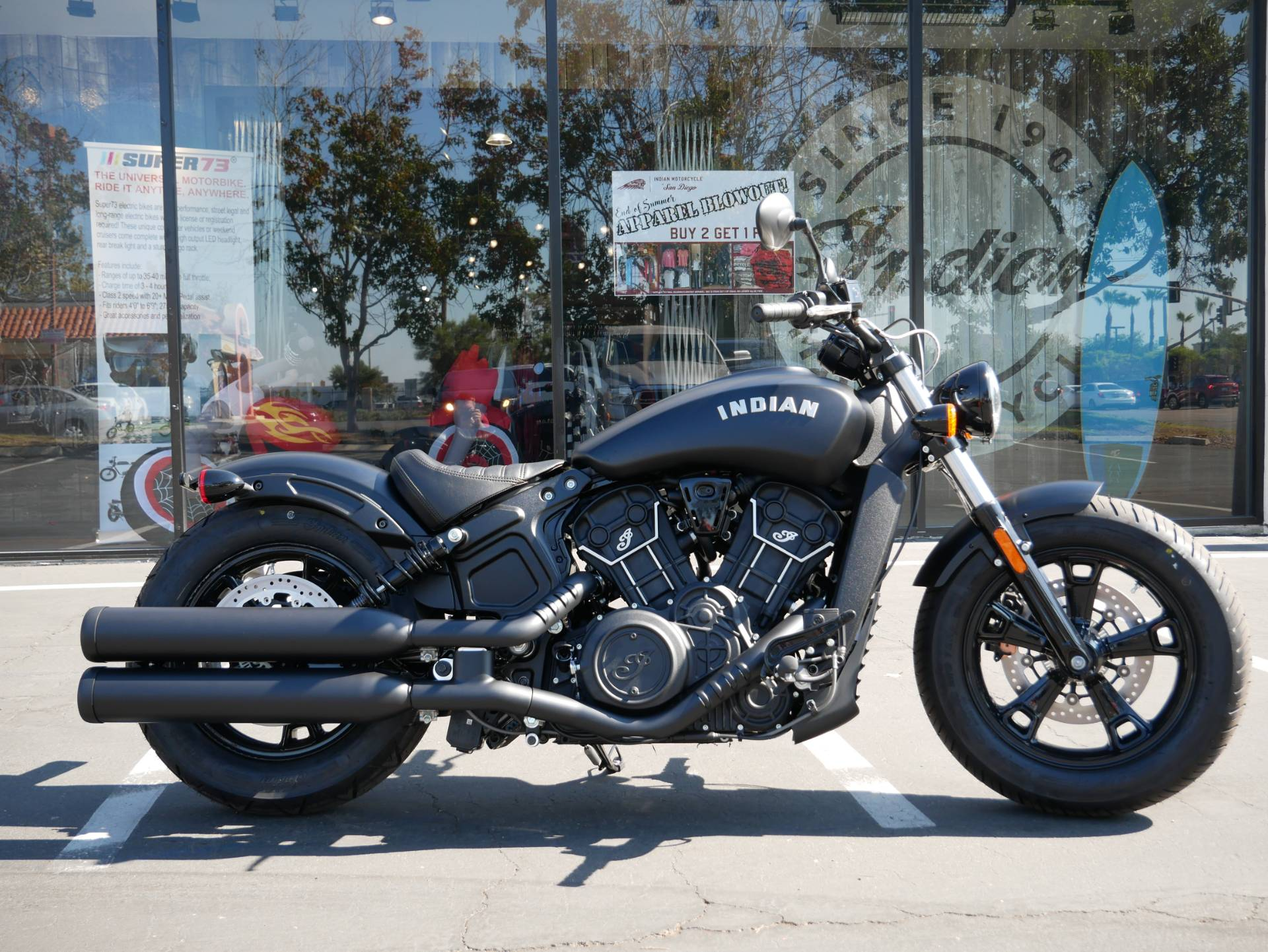 New 2021 Indian Scout Bobber Sixty Abs Motorcycles In San Diego Ca 167895 Thunder Black Smoke