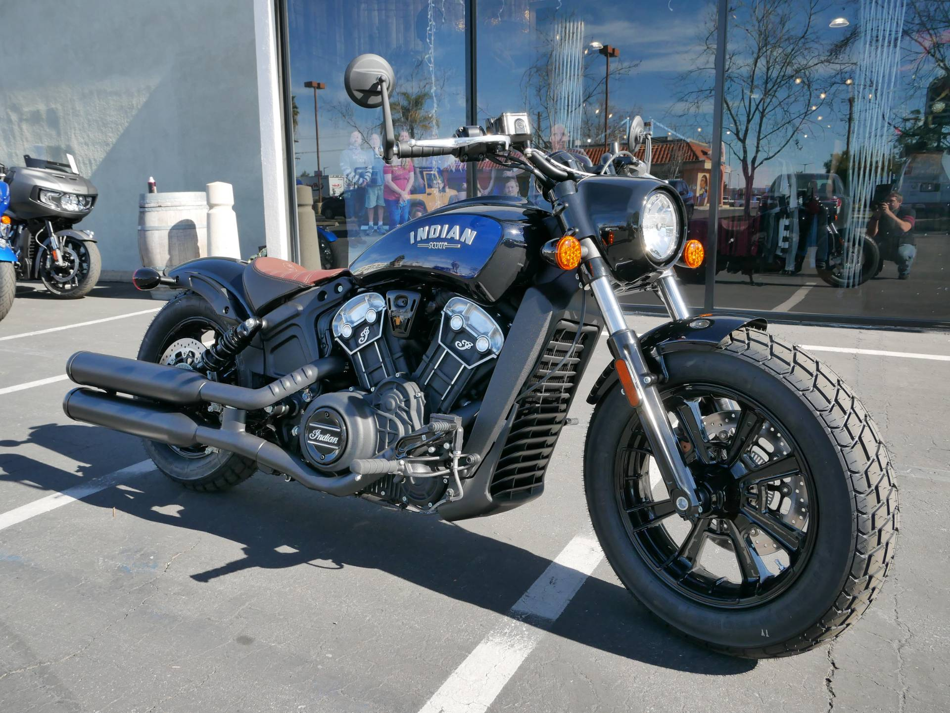 2021 Indian Scout® Bobber ABS Icon in San Diego, California - Photo 2