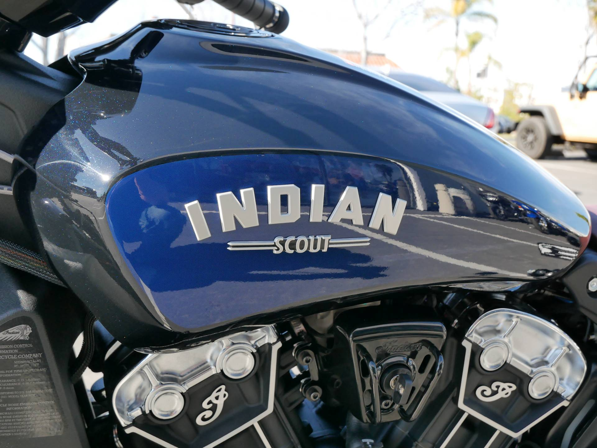 2021 Indian Scout® Bobber ABS Icon in San Diego, California - Photo 7