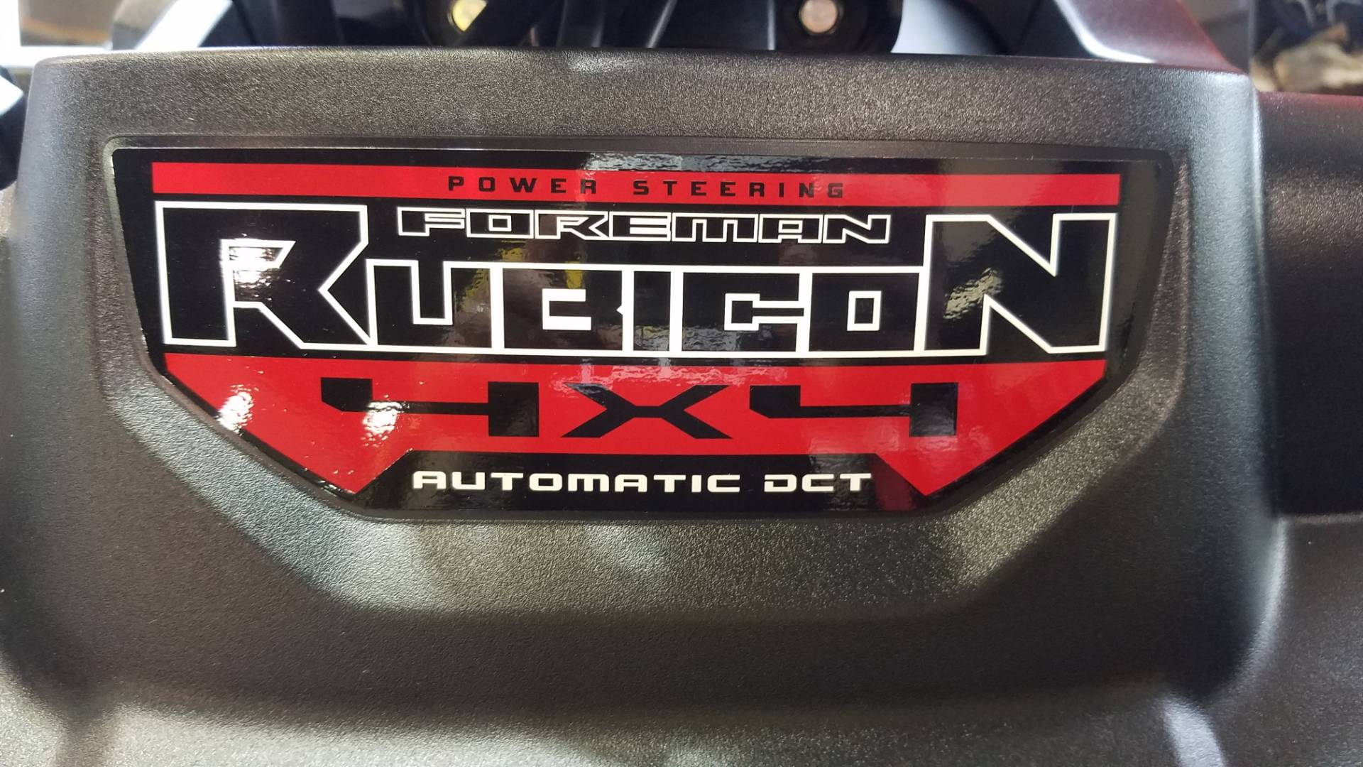 2017 Honda FourTrax Foreman Rubicon 4x4 DCT EPS Deluxe in Rockwall, Texas