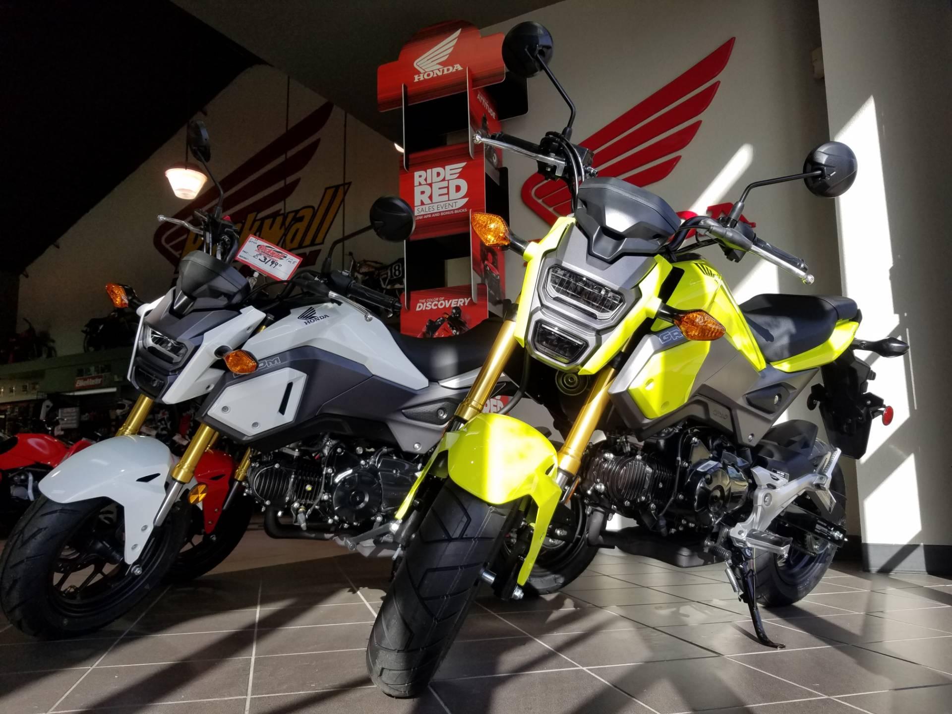 2017 Honda Grom in Rockwall, Texas