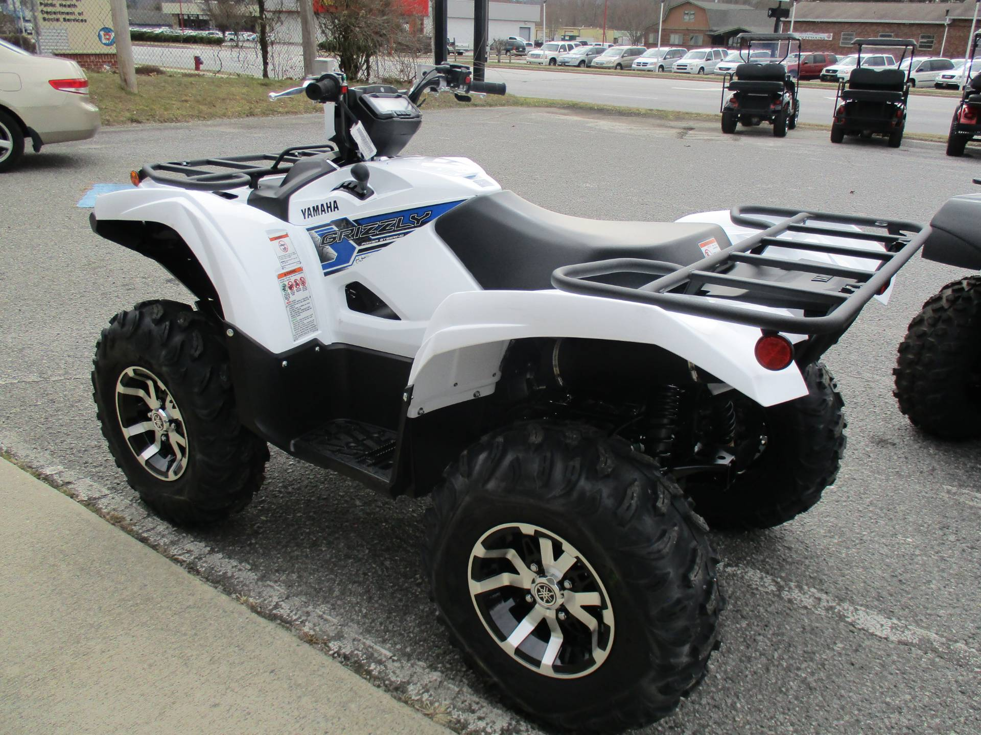 2019 Yamaha Grizzly EPS in Hendersonville, North Carolina