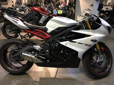 2013 Triumph Daytona 675R in Philadelphia, Pennsylvania