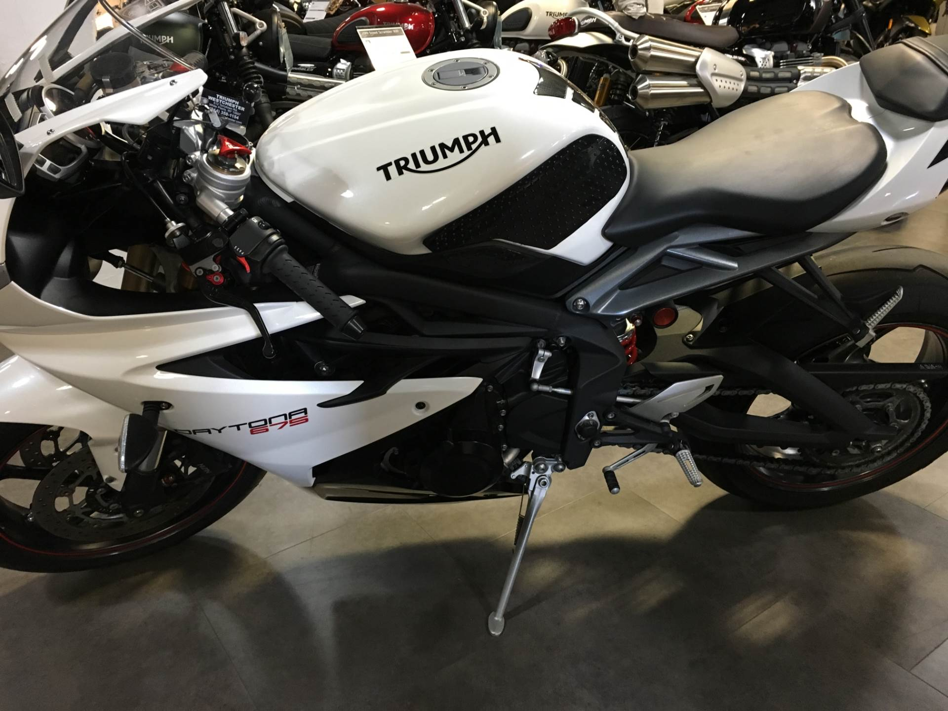 2016 Triumph Daytona 675 ABS in Philadelphia, Pennsylvania