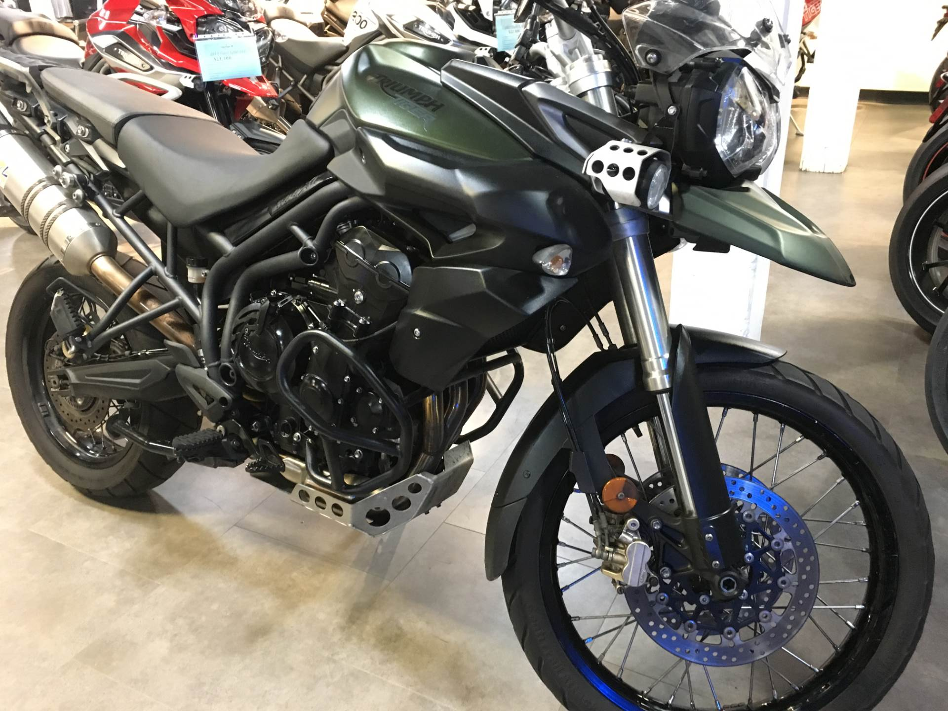 2014 Triumph Tiger 800 XC ABS in Philadelphia, Pennsylvania