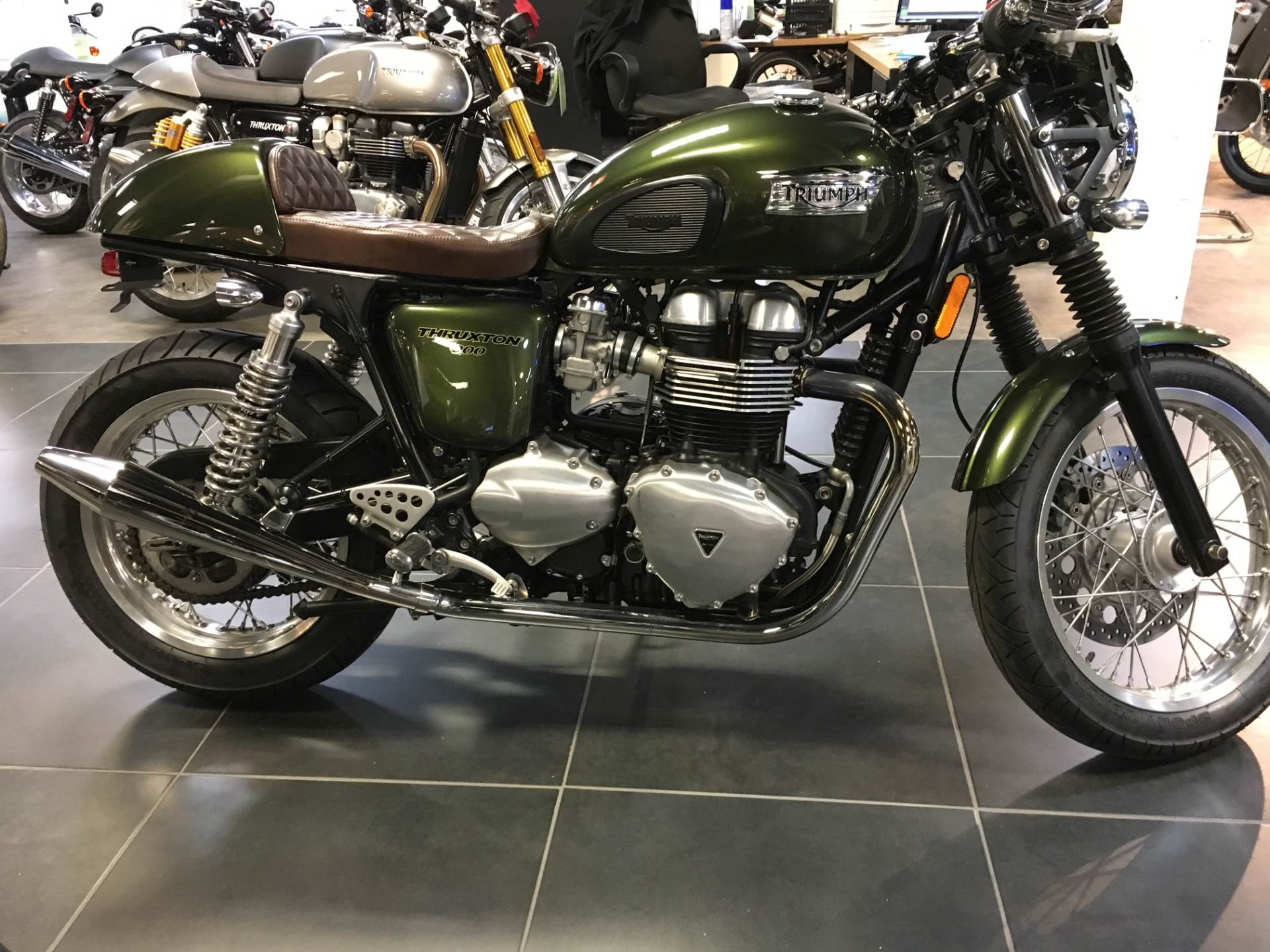 2013 Triumph Thruxton in Philadelphia, Pennsylvania