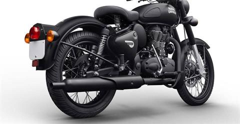 2019 Royal Enfield Classic 500 Stealth Black in Philadelphia, Pennsylvania