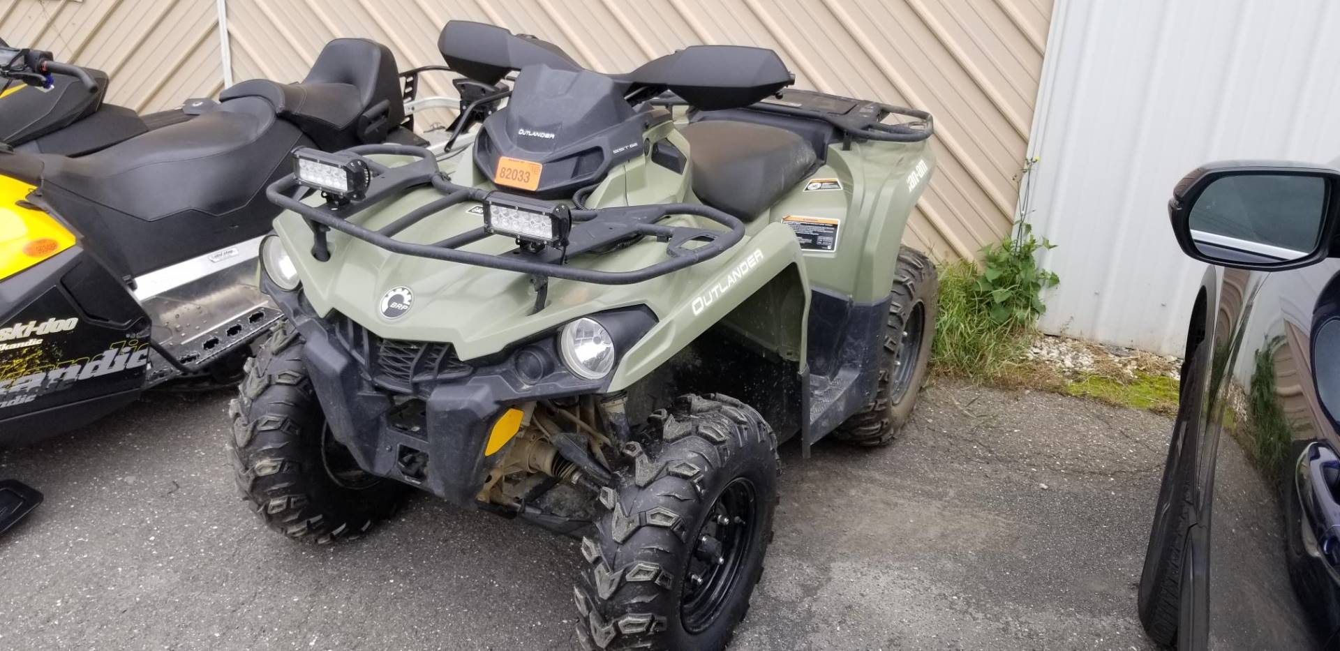 2017 Can-Am Outlander 570 in Presque Isle, Maine - Photo 1