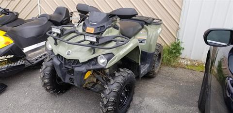 2017 Can-Am Outlander 570 in Presque Isle, Maine