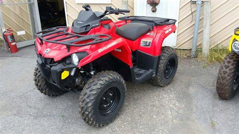2016 Can-Am Outlander L 450 in Presque Isle, Maine