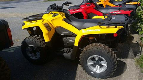 2016 Can-Am Outlander L DPS 450 in Presque Isle, Maine