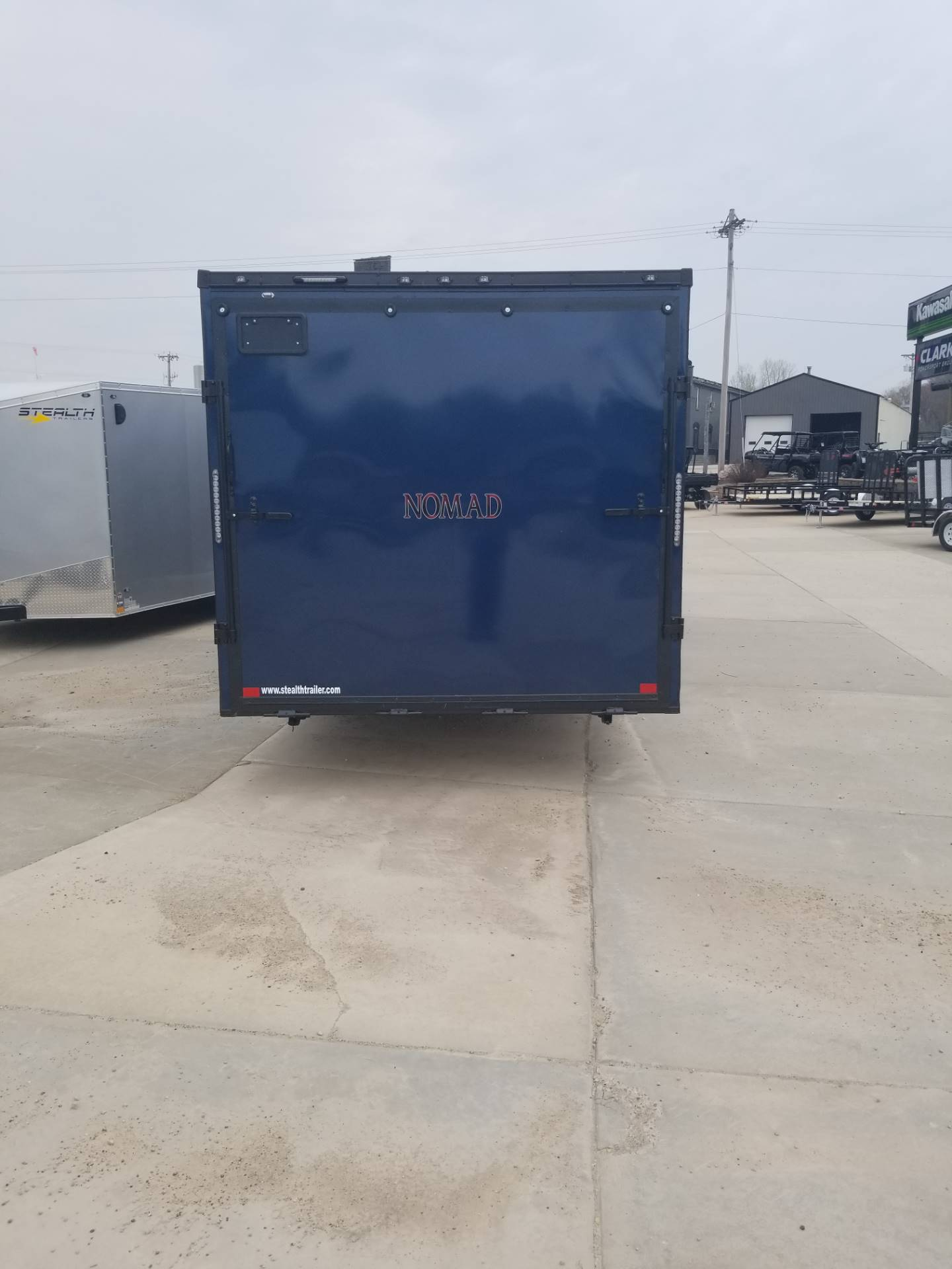 2019 Stealth Trailers NOMAD TOY HAULER 24 in Hillsboro, Wisconsin - Photo 12