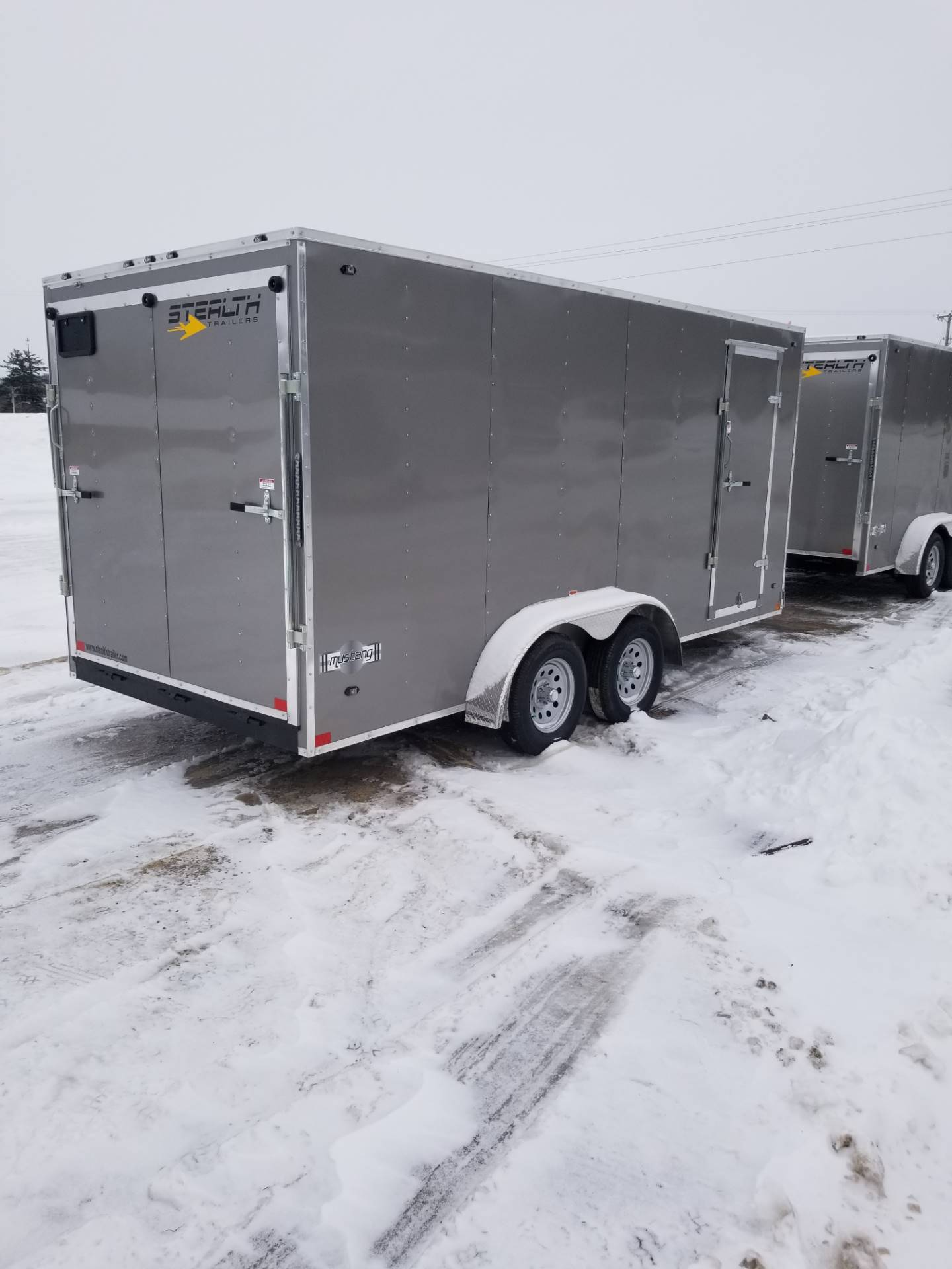 "2019 Stealth Trailers TITAN  7' W X 14' L X 72"" H in Hillsboro, Wisconsin - Photo 1"