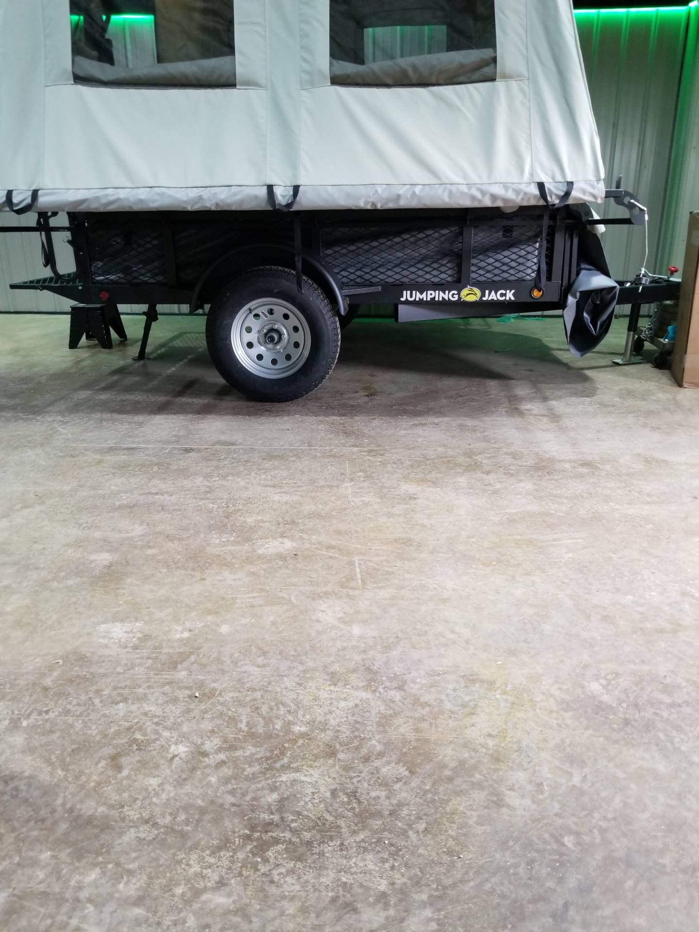 2019 Jumping Jacks Trailers JJT6X8 in Hillsboro, Wisconsin - Photo 2