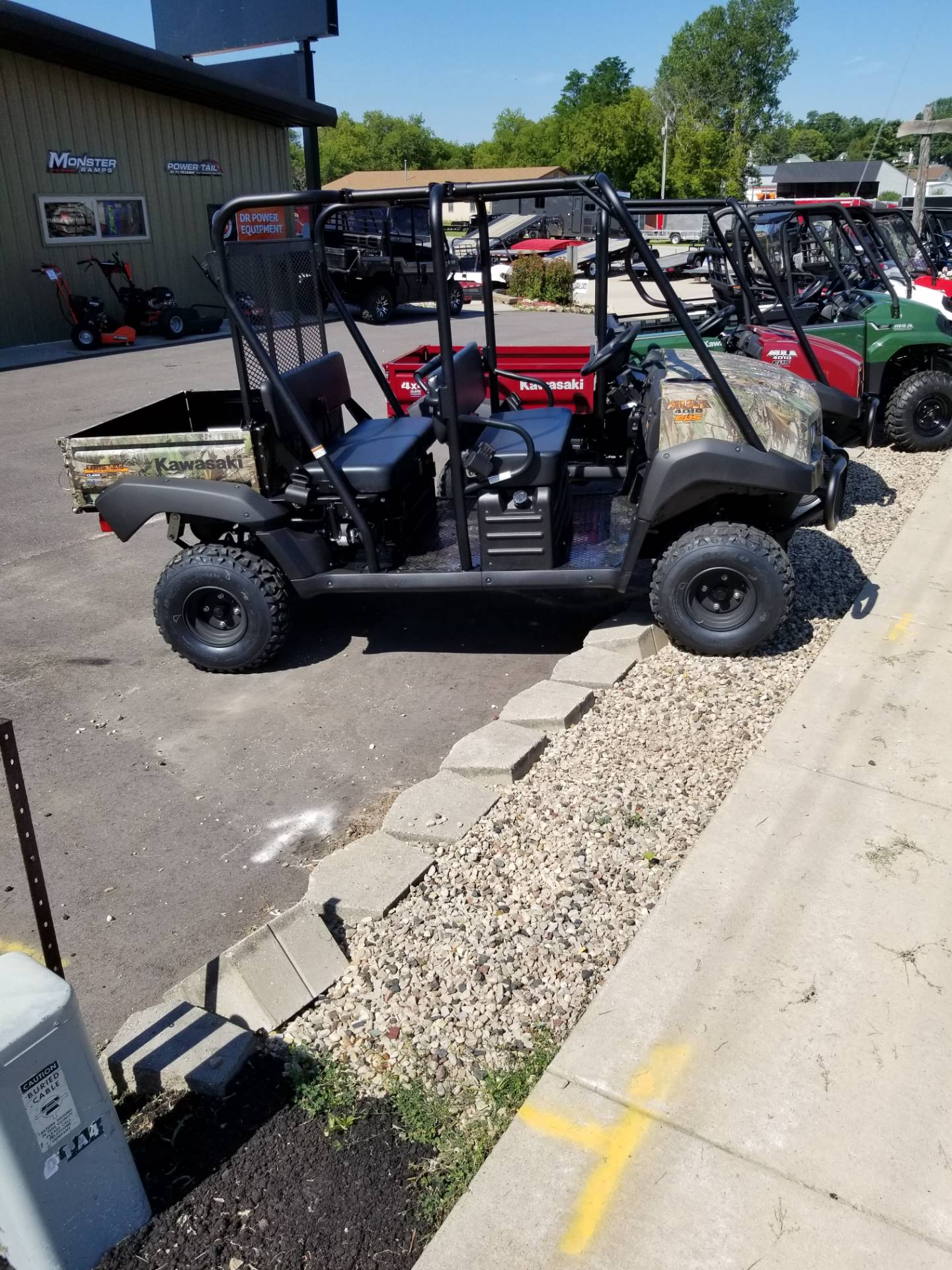 2020 Kawasaki Mule 4010 Trans4x4 Camo in Hillsboro, Wisconsin - Photo 1