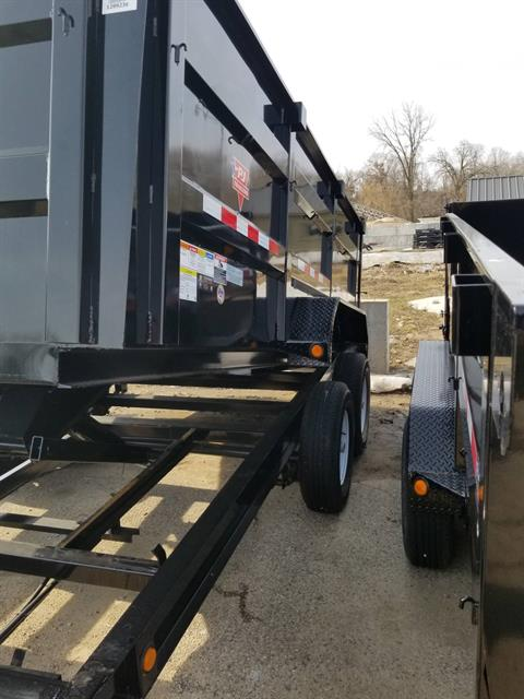 2019 PJ Trailers DHA1472BSSK in Hillsboro, Wisconsin - Photo 2