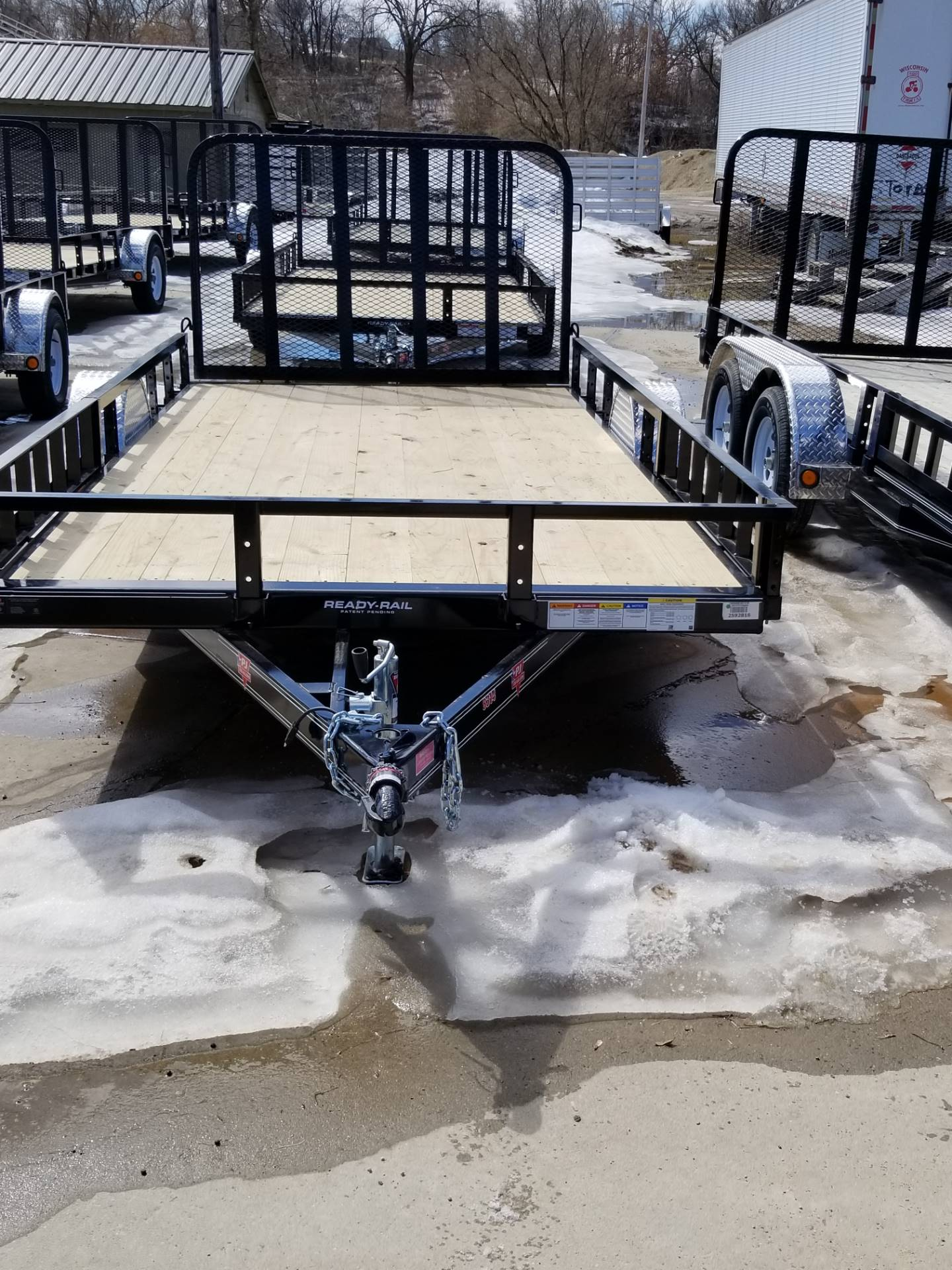"2019 PJ Trailers 83"" Single Axle Channel Utility (U8) in Hillsboro, Wisconsin - Photo 3"