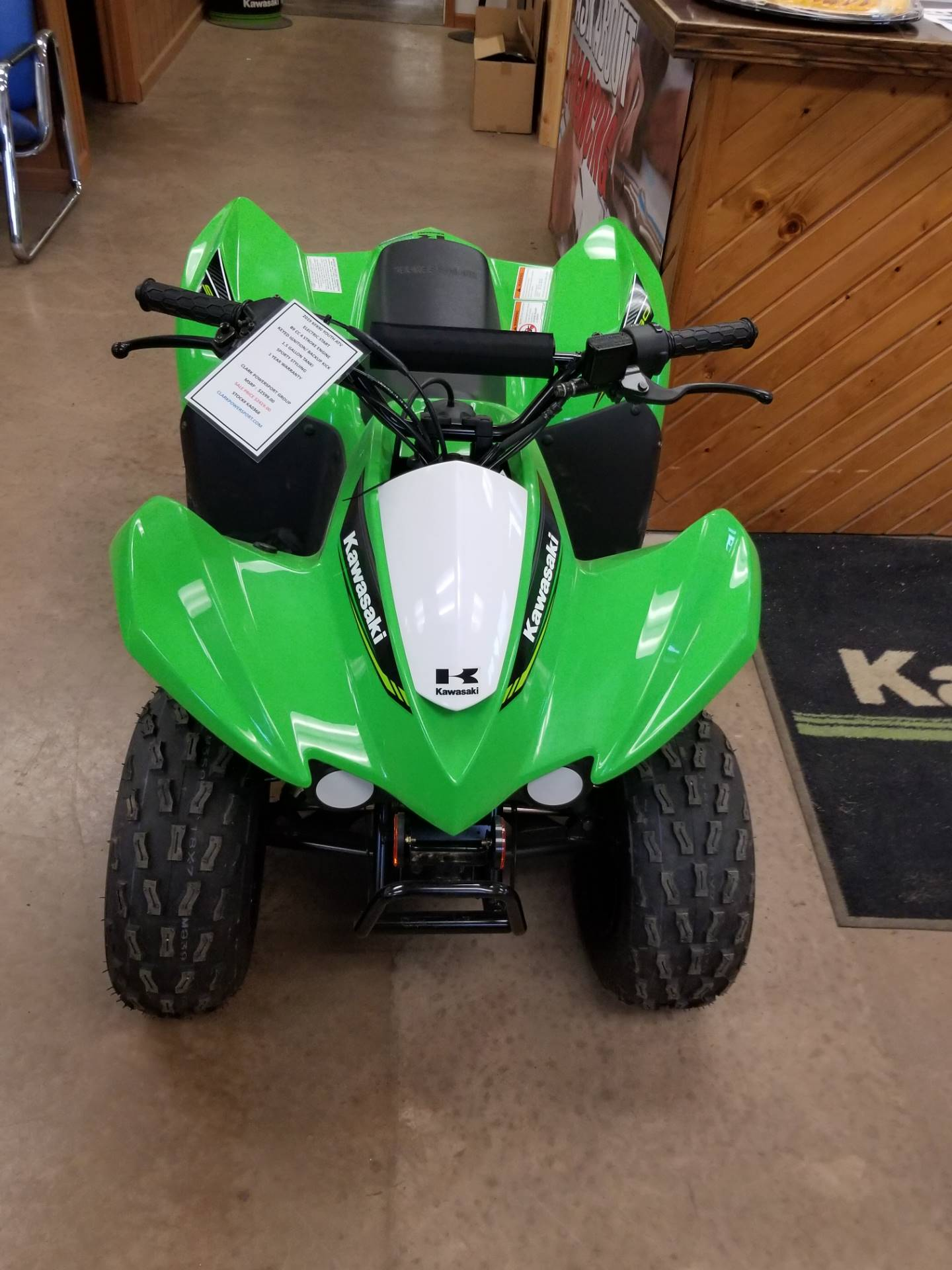 2019 Kawasaki KFX 50 in Hillsboro, Wisconsin - Photo 5