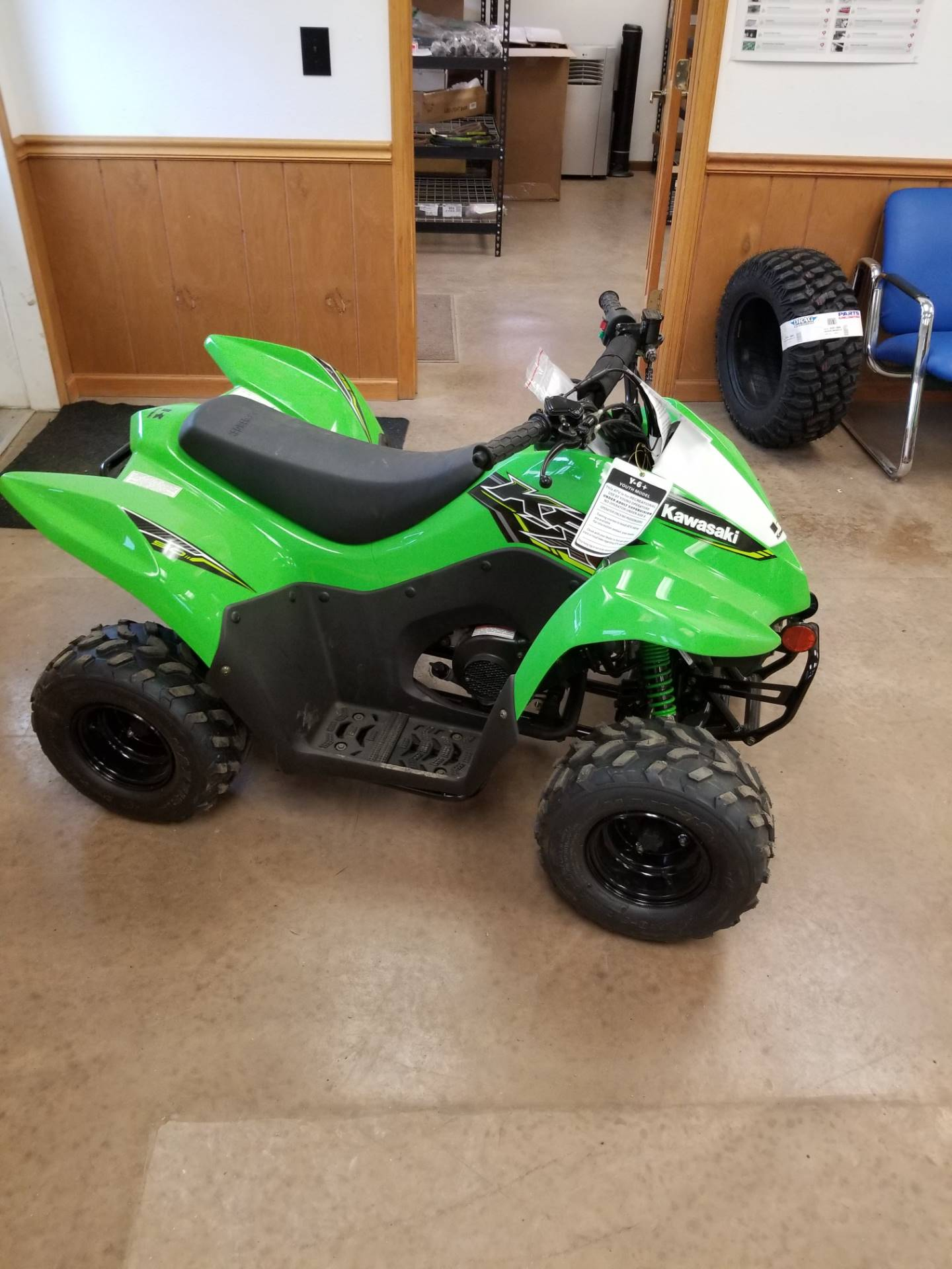 2019 Kawasaki KFX 50 in Hillsboro, Wisconsin - Photo 7