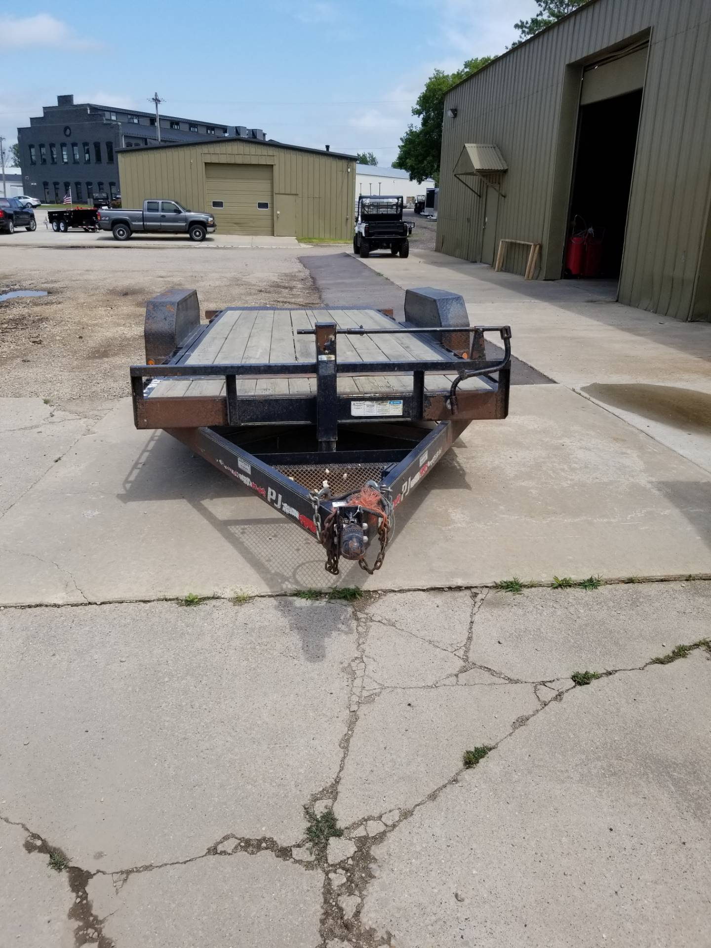 2019 PJ Trailers U721031DSGK in Hillsboro, Wisconsin - Photo 2