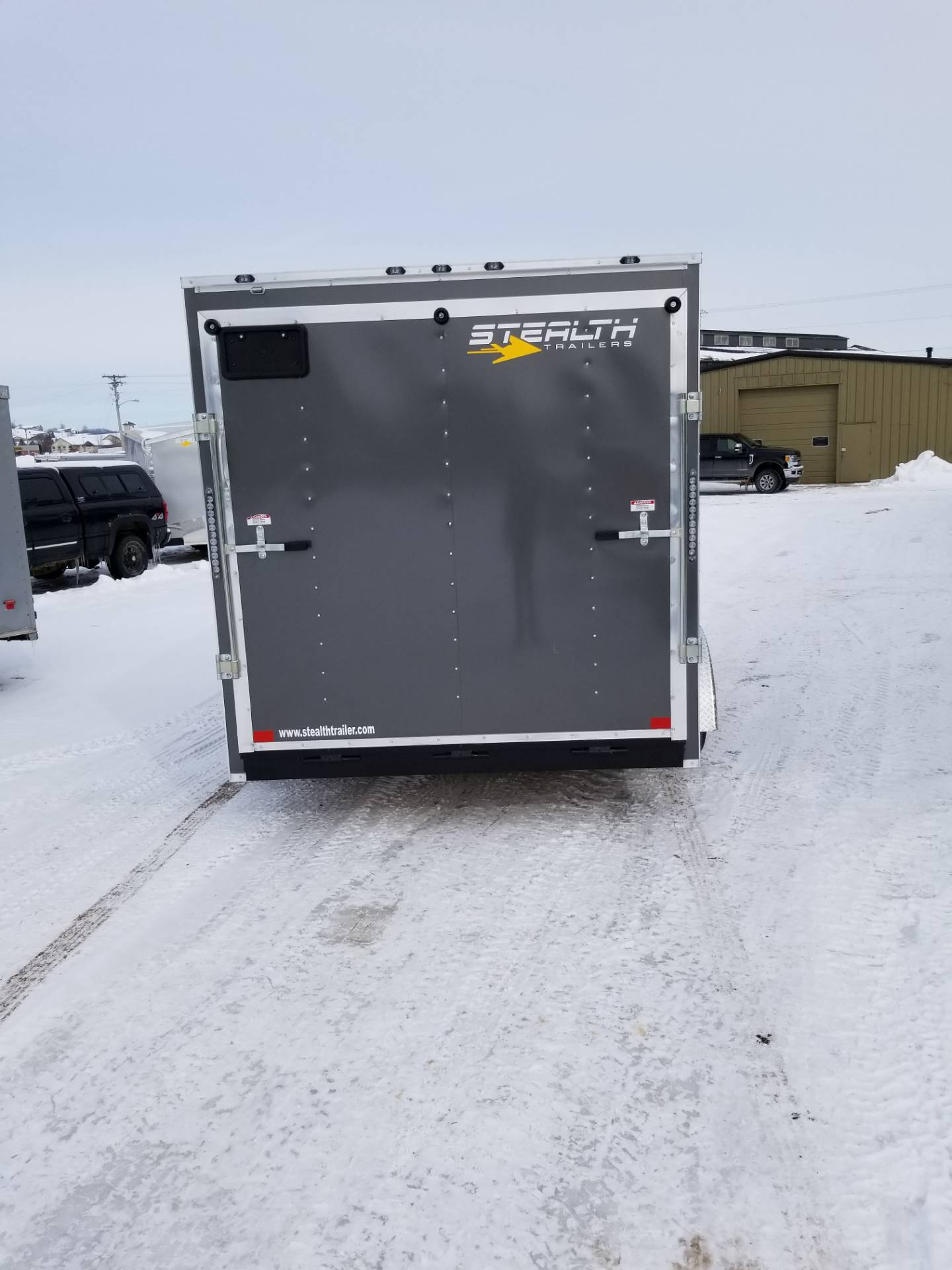 "2019 Stealth Trailers MUSTANG SE  7 x 14 x 78"" in Hillsboro, Wisconsin - Photo 6"