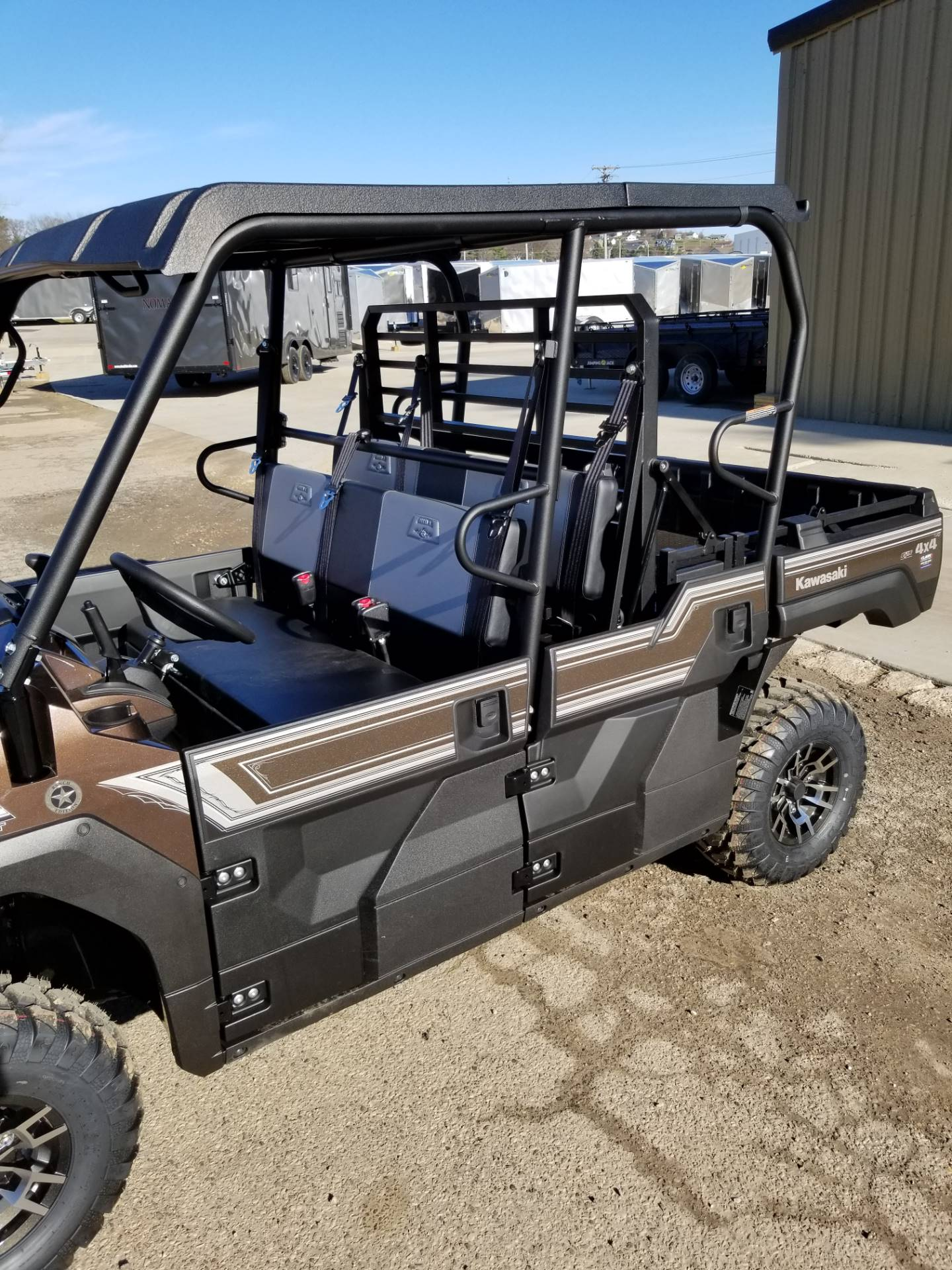 2019 Kawasaki Mule PRO-FXT Ranch Edition 12