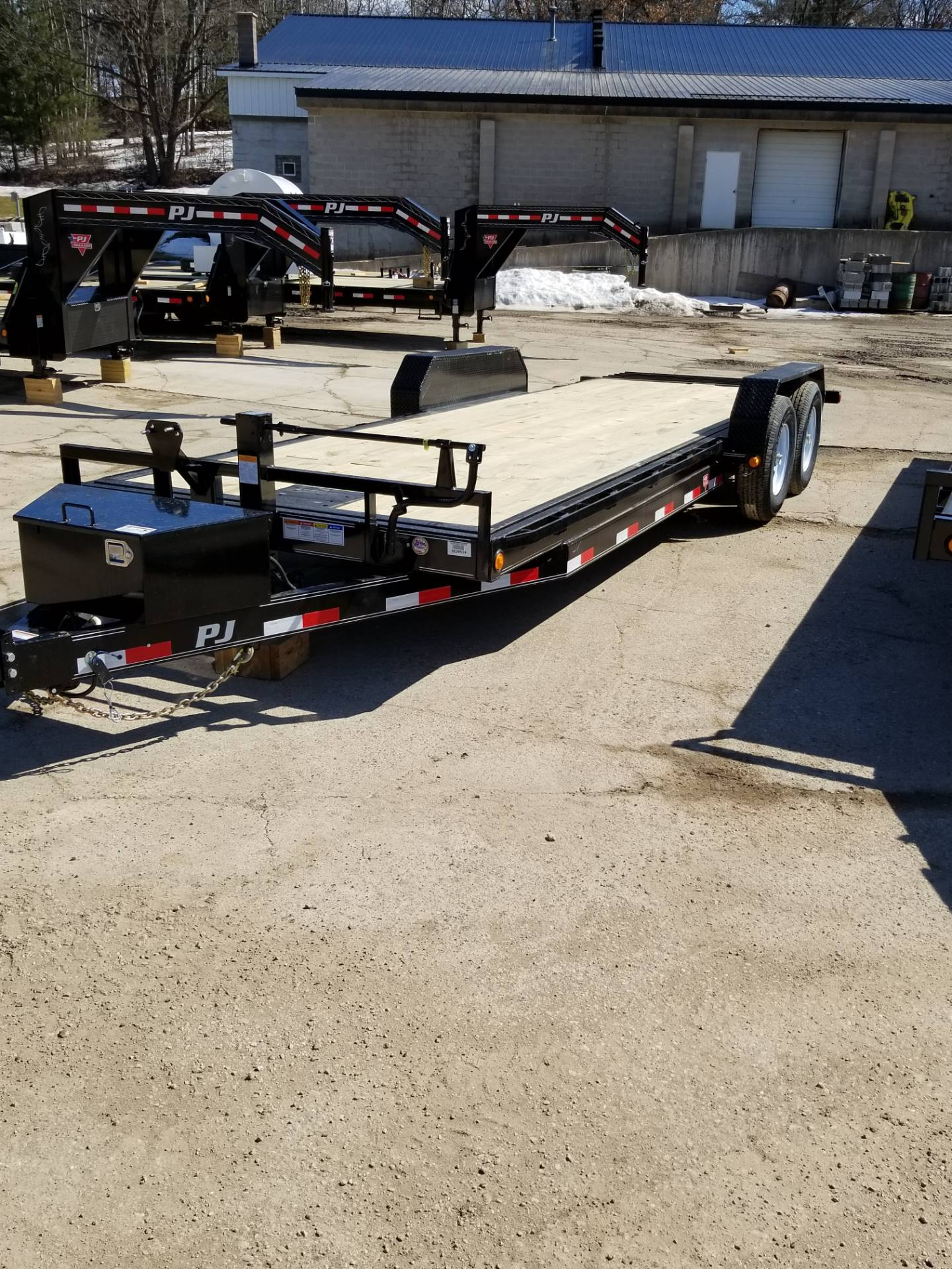 2019 PJ Trailers CARHAULER/EQUIP TILT TRAILER in Hillsboro, Wisconsin - Photo 1