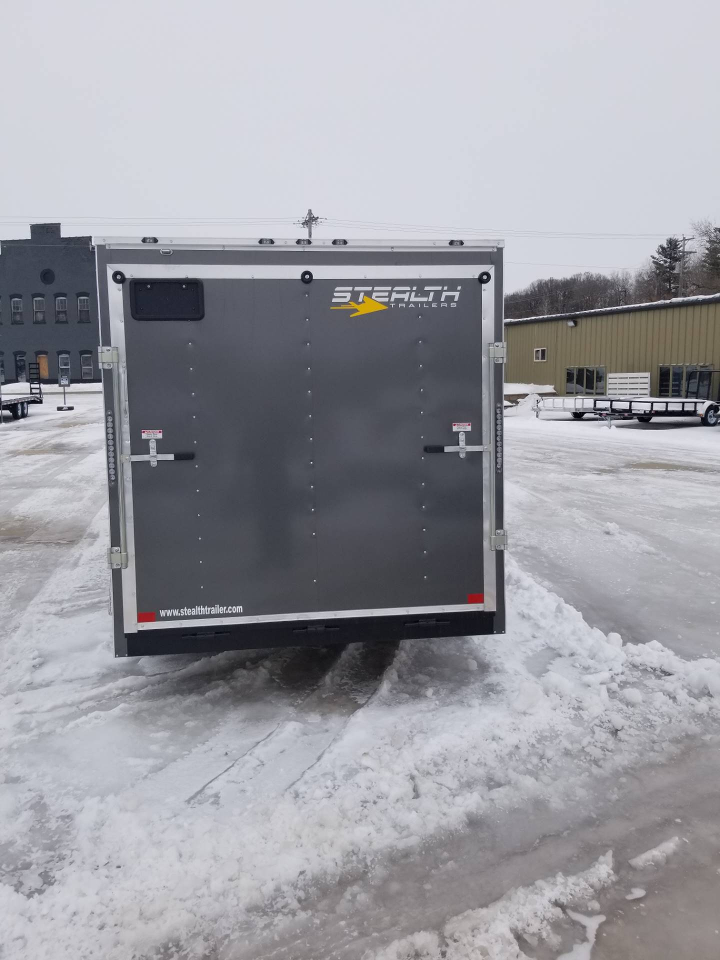 "2019 Stealth Trailers MUSTANG SE 7' W X 16'L X 72"" H in Hillsboro, Wisconsin - Photo 4"