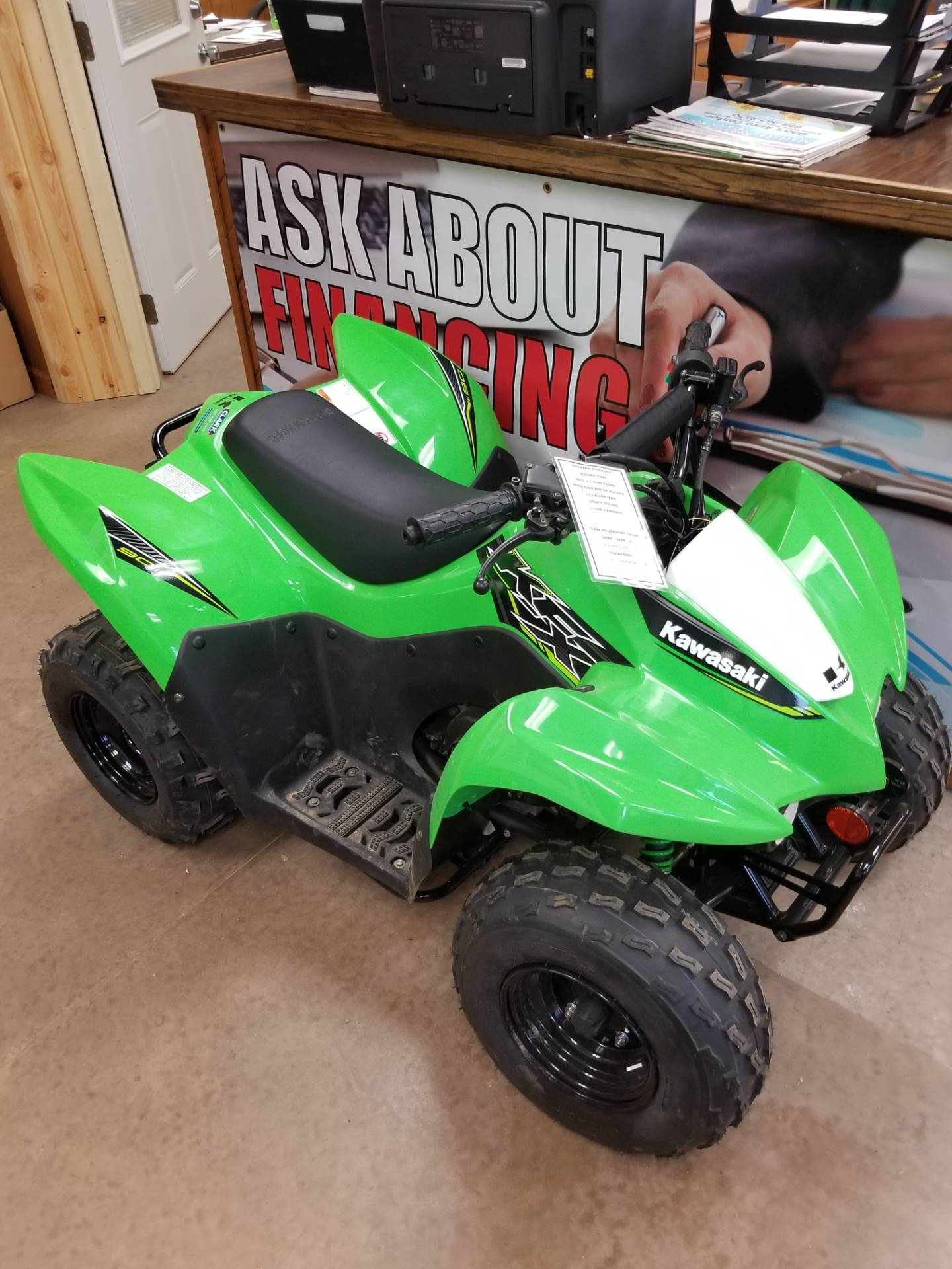 2019 Kawasaki KFX 90 in Hillsboro, Wisconsin - Photo 1
