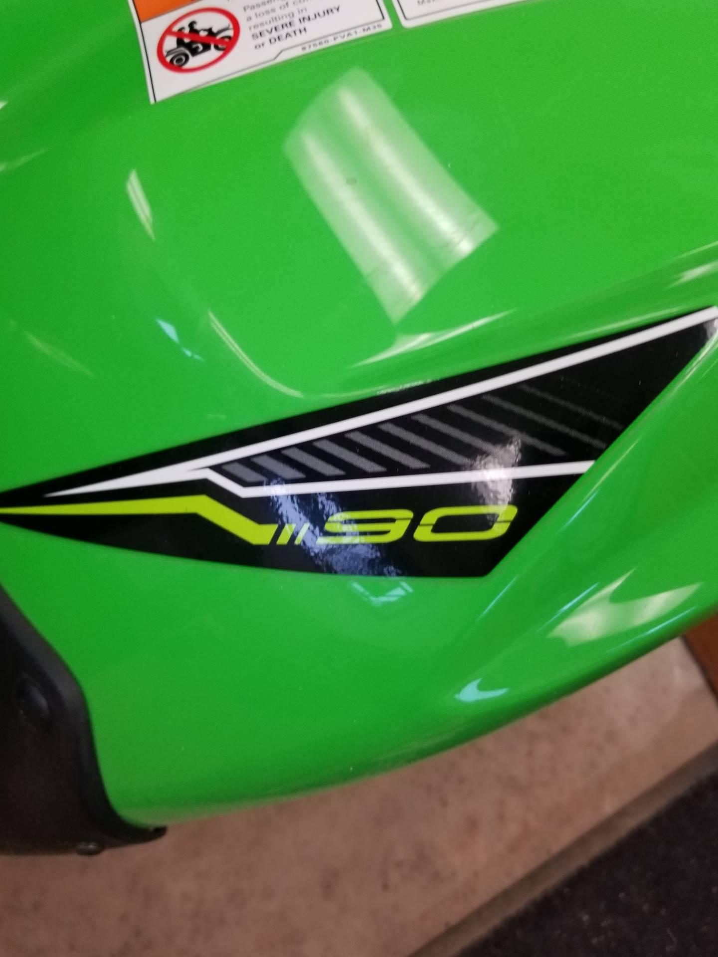 2019 Kawasaki KFX 90 in Hillsboro, Wisconsin - Photo 3
