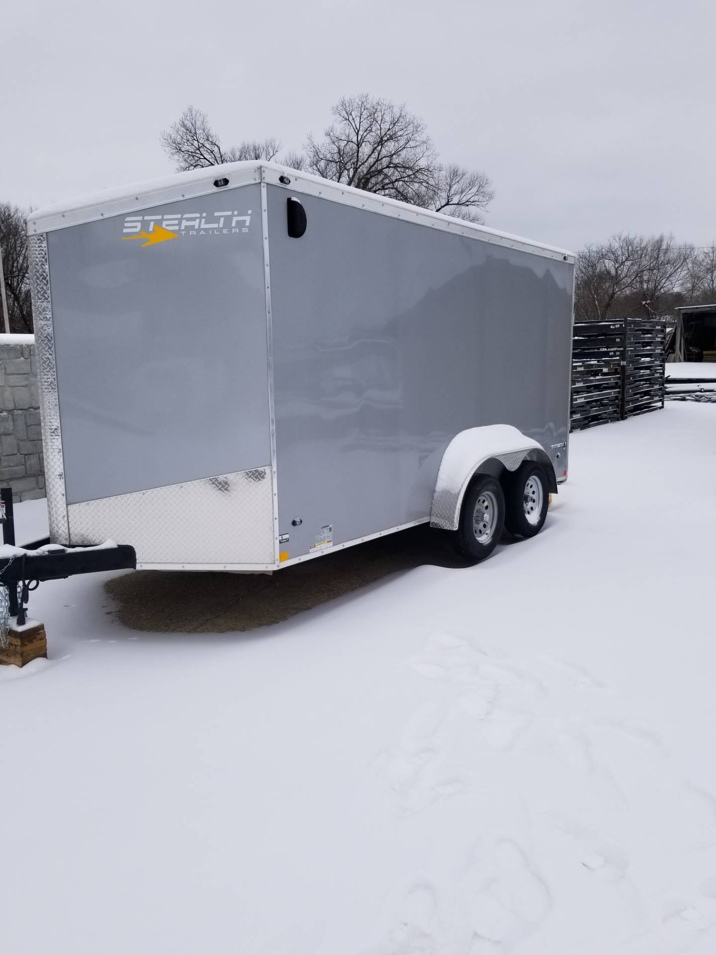 2019 Stealth Trailers S19TT714TA2 in Hillsboro, Wisconsin - Photo 3