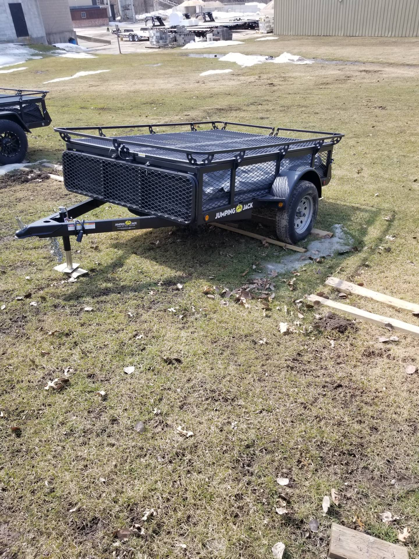 2019 Jumping Jacks Trailers JJT6X8 in Hillsboro, Wisconsin - Photo 14