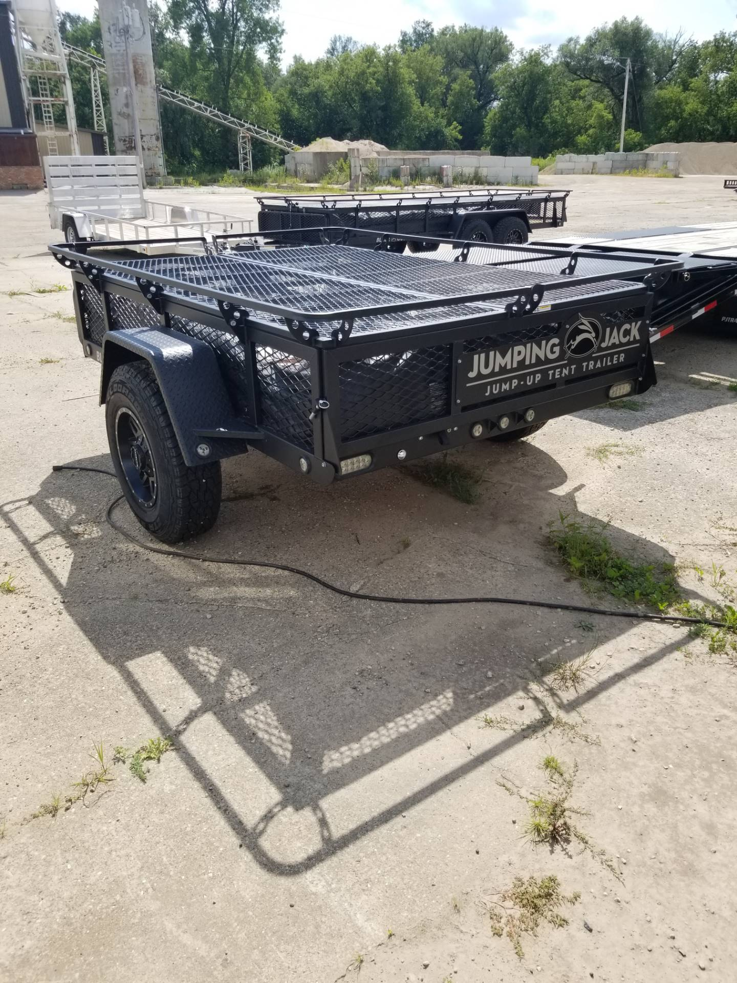 2019 Jumping Jacks Trailers JJT6X8 in Hillsboro, Wisconsin - Photo 9