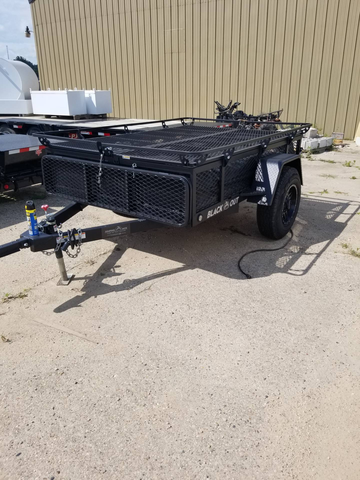 2019 Jumping Jacks Trailers JJT6X8 in Hillsboro, Wisconsin - Photo 1