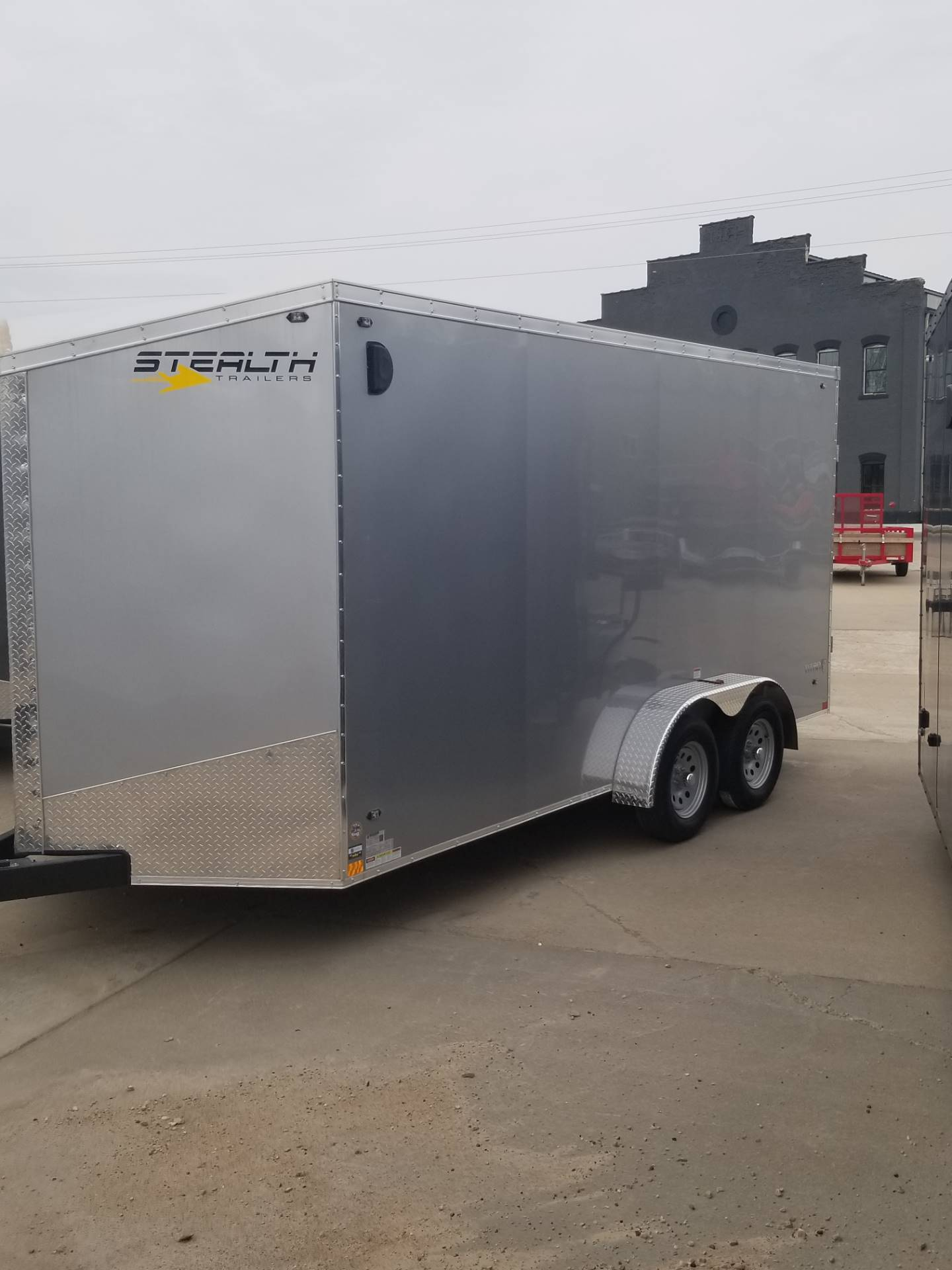 2020 Stealth Trailers TITAN 7 X 16 in Hillsboro, Wisconsin - Photo 1