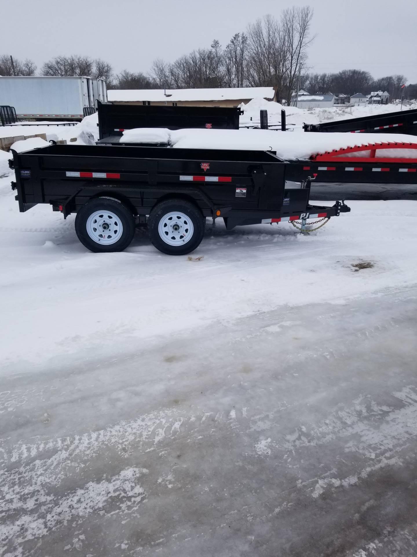 2019 PJ Trailers tandem axle dump in Hillsboro, Wisconsin