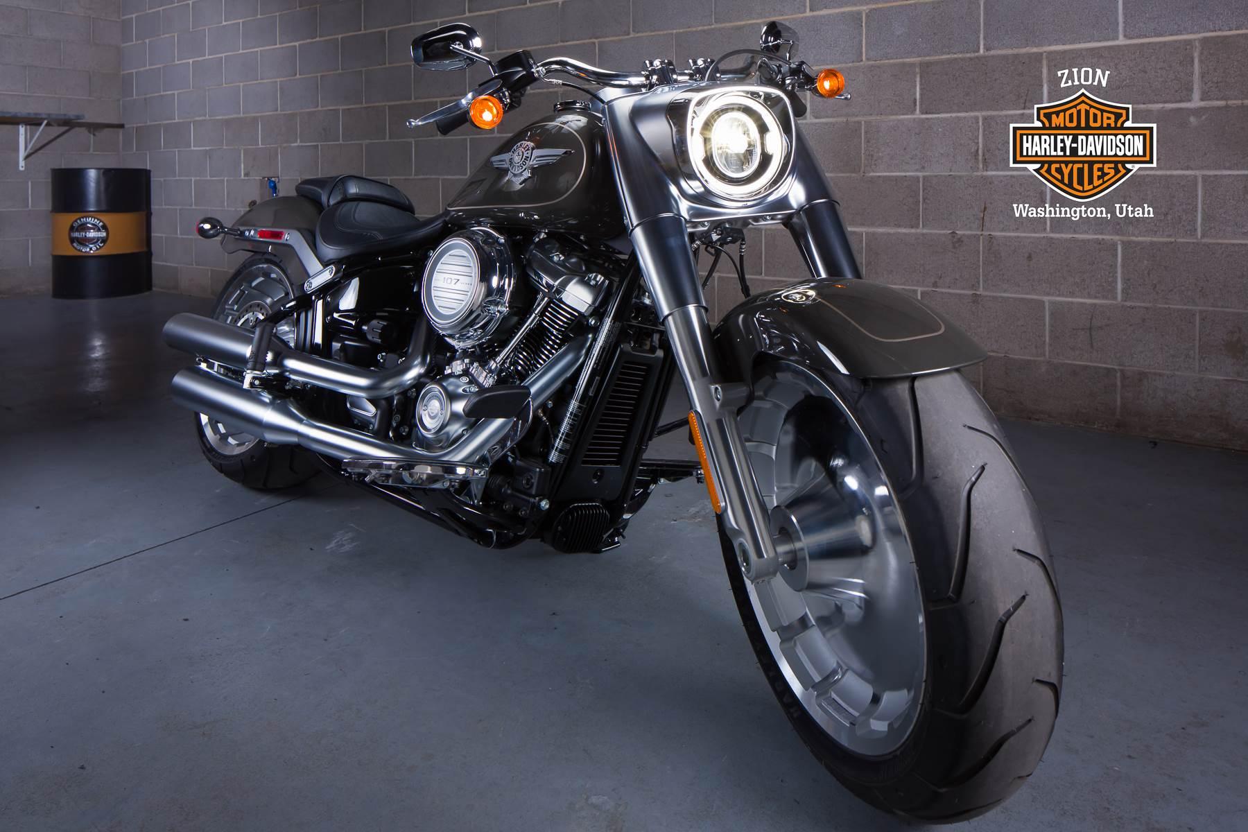 New 2018 Harley-Davidson Fat Boy®107 Motorcycles in Washington, UT