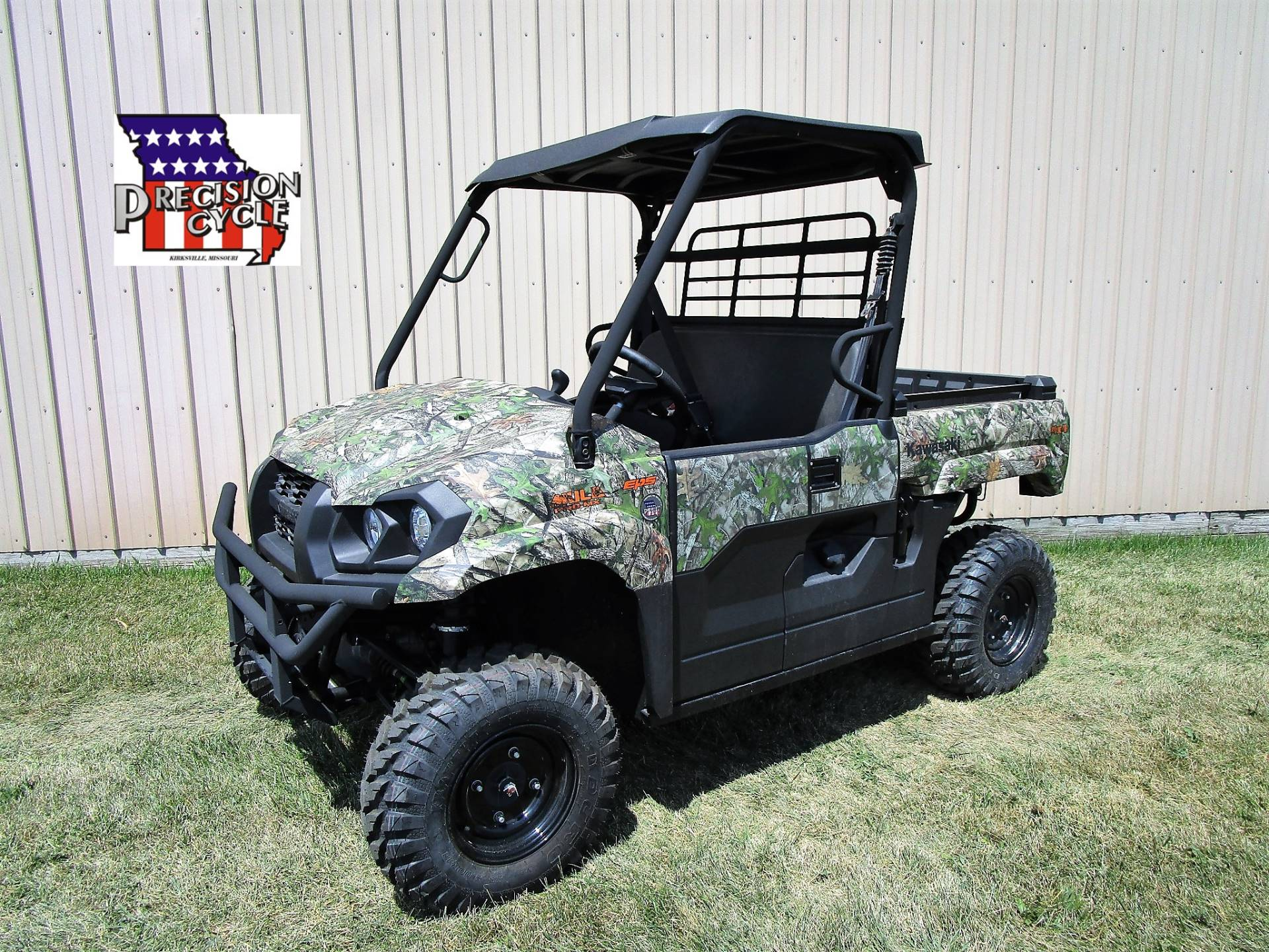2019 Kawasaki Mule PRO-MX EPS Camo in Kirksville, Missouri - Photo 1