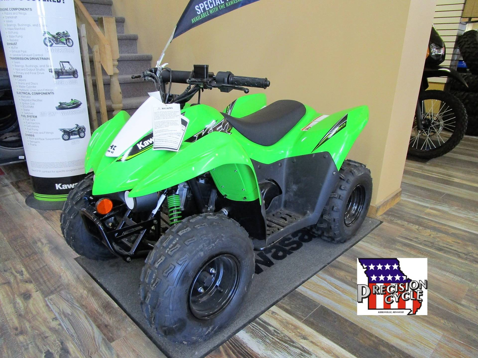 2019 Kawasaki KFX 90 in Kirksville, Missouri - Photo 1