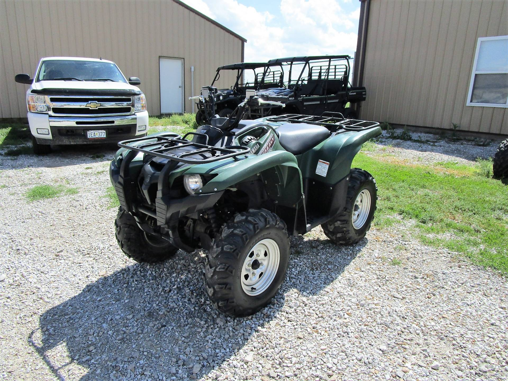 Yamaha Grizzly 700 >> Used 2012 Yamaha Grizzly 700 Fi Auto 4x4 Atvs In Kirksville Mo