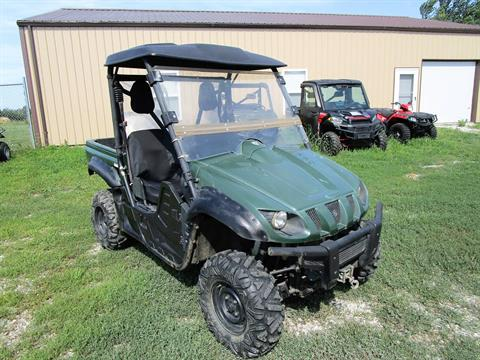 2012 Yamaha Rhino 700 FI Auto. 4x4 in Kirksville, Missouri - Photo 1